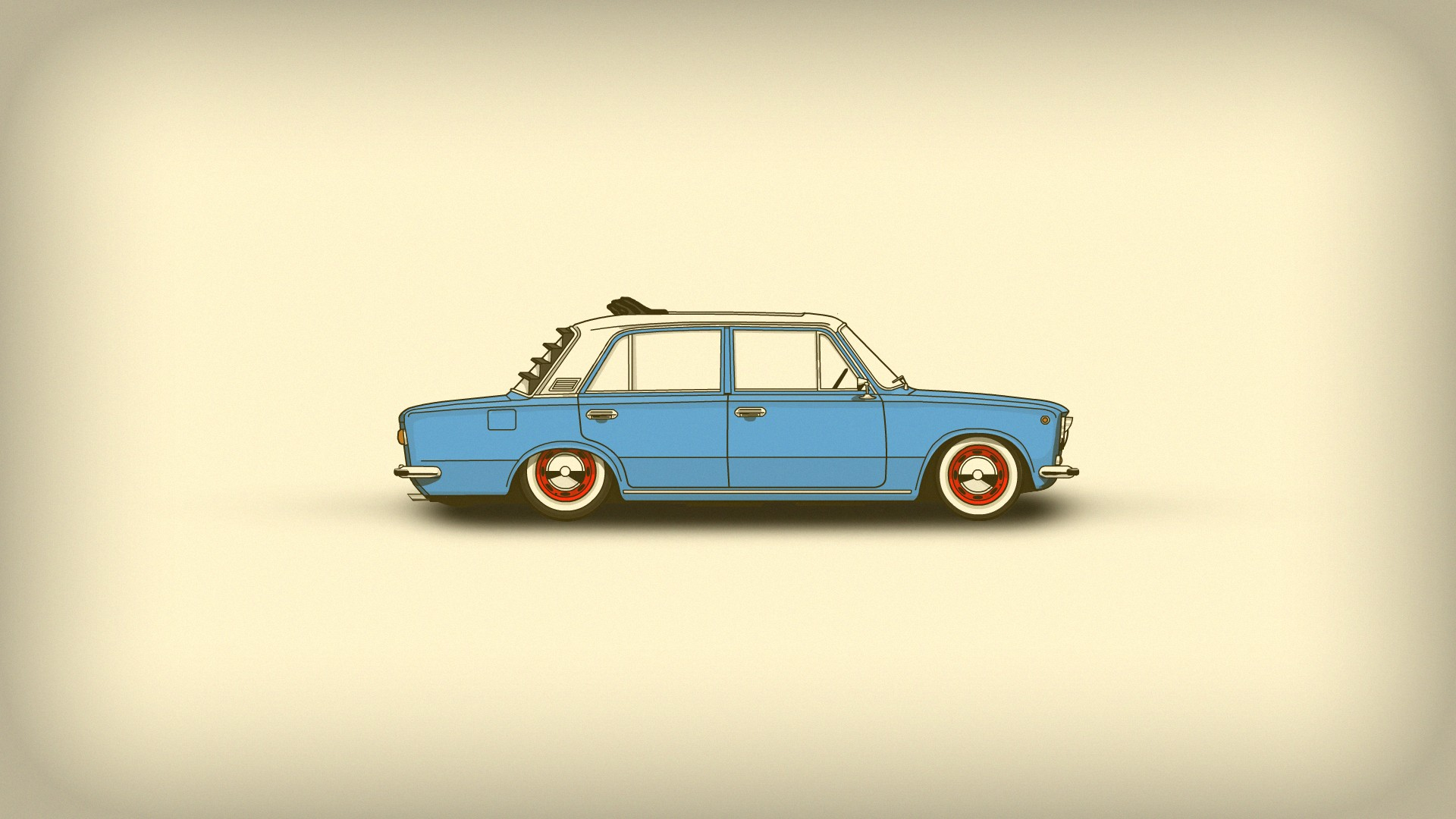 Car Minimalism Simple Art Hd Artist 4k Wallpapers