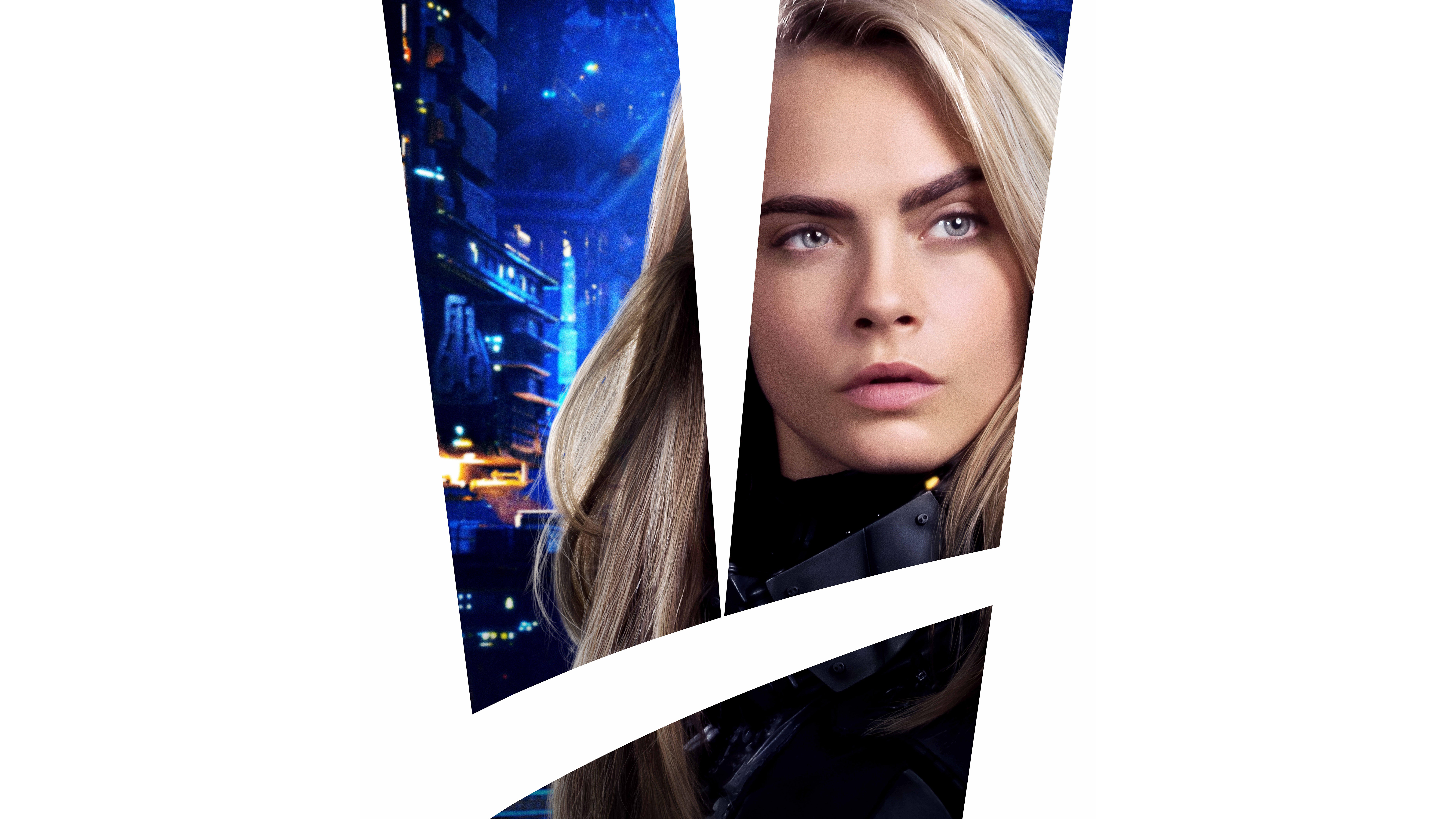 Cara Delevingne As Laureline In Valerian And The City Of A