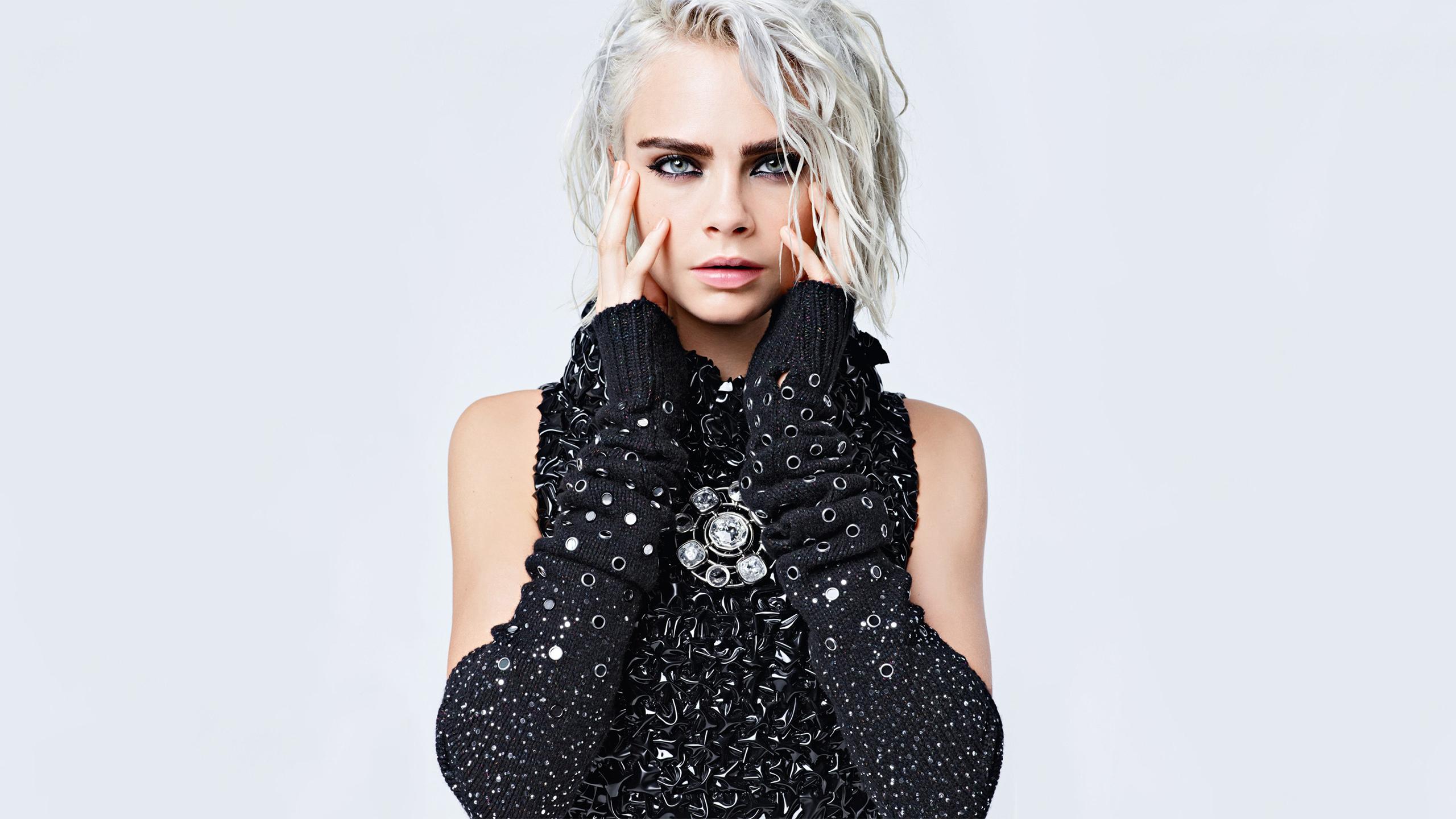 2018 Lily Rose Depp Hd Celebrities 4k Wallpapers Images: Cara Delevingne Lily Rose Depp Chanel 2017, HD Celebrities