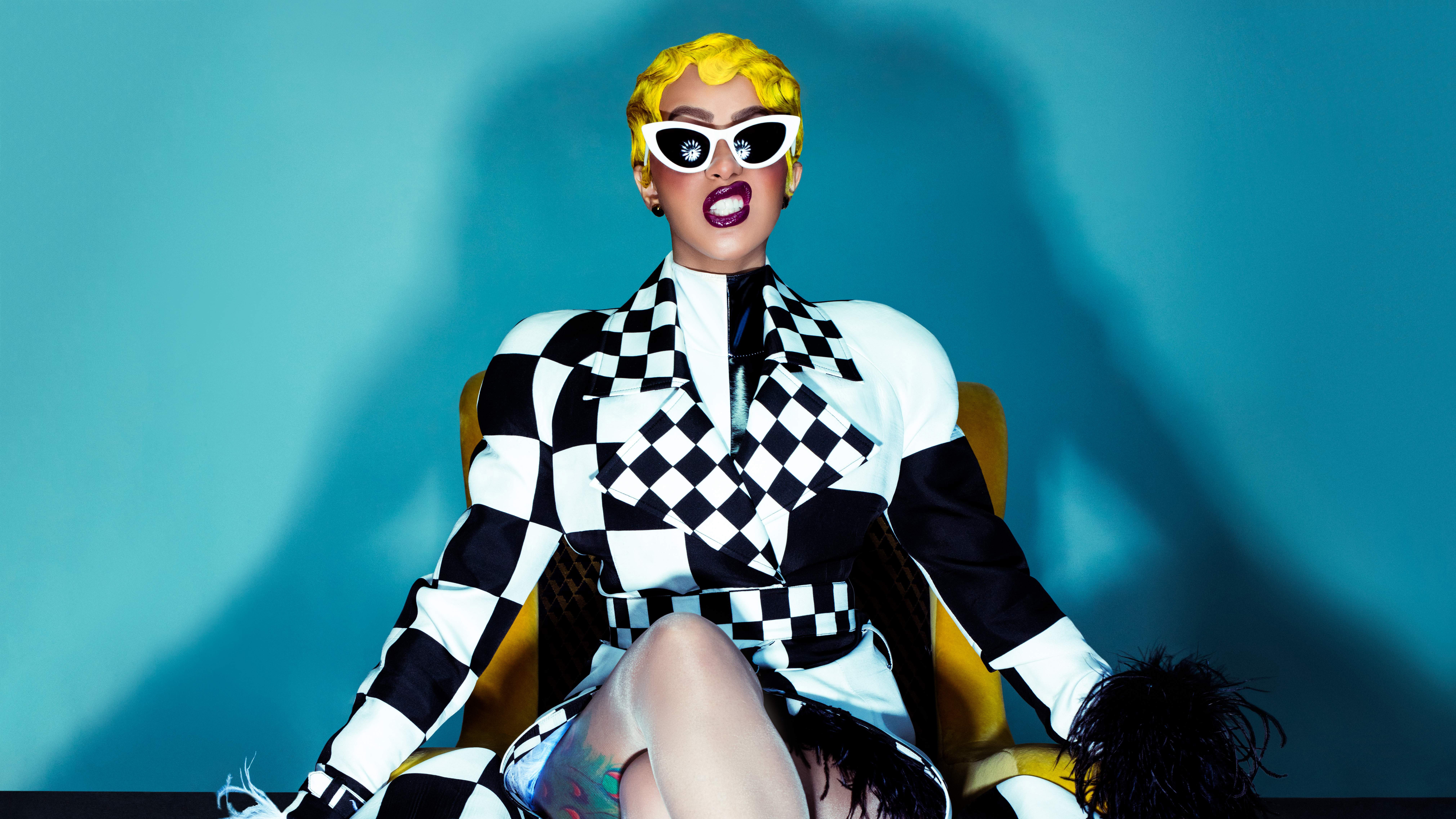Cardi B 8k, HD Music, 4k Wallpapers, Images, Backgrounds ...