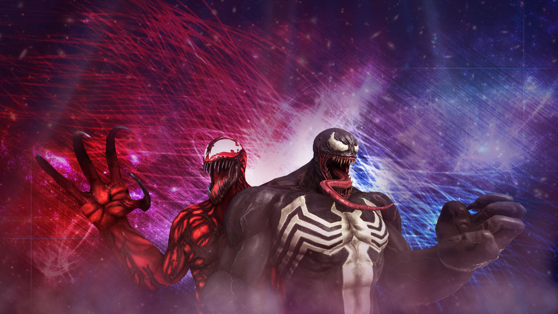 2560x1440 Carnage And Venom 1440P Resolution HD 4k ...