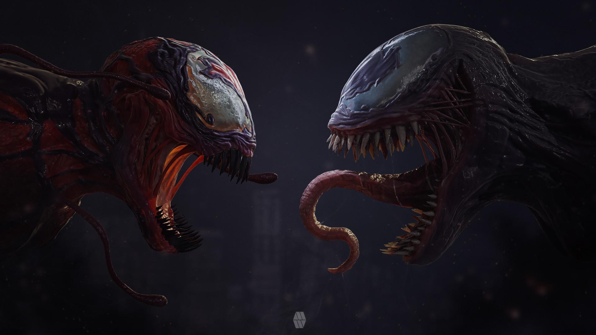 Carnage Meets Venom, HD Superheroes, 4k Wallpapers, Images ...