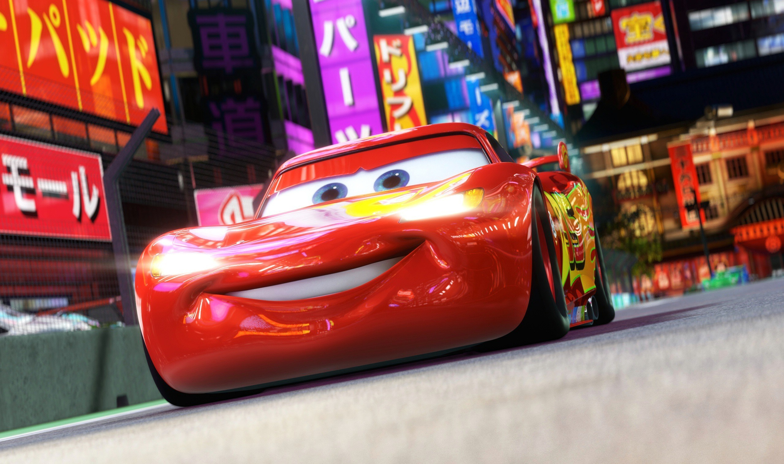 Cars 3 Animated Movie 1440P Resolution