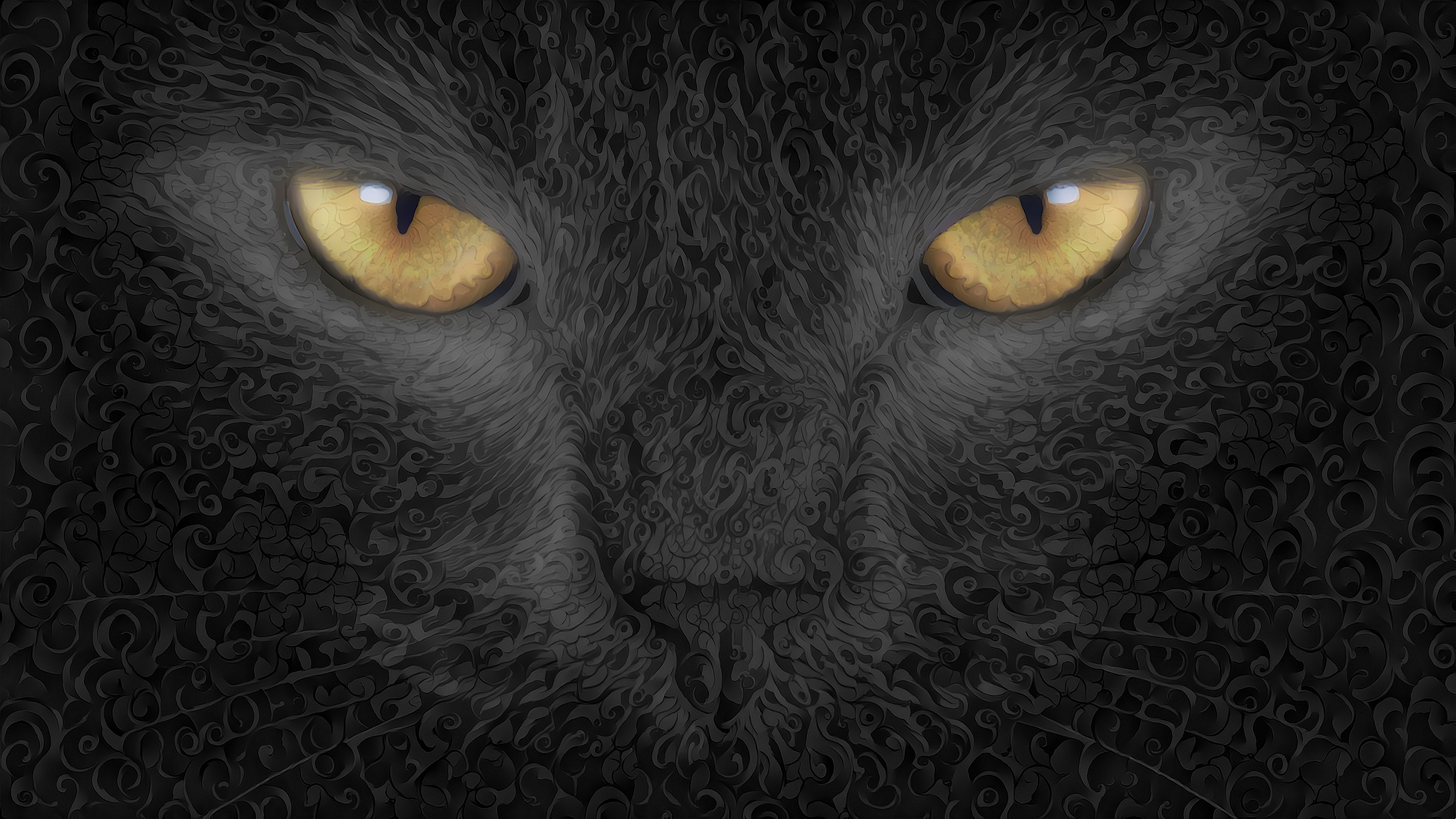 cat abstract art background, hd artist, 4k wallpapers, images