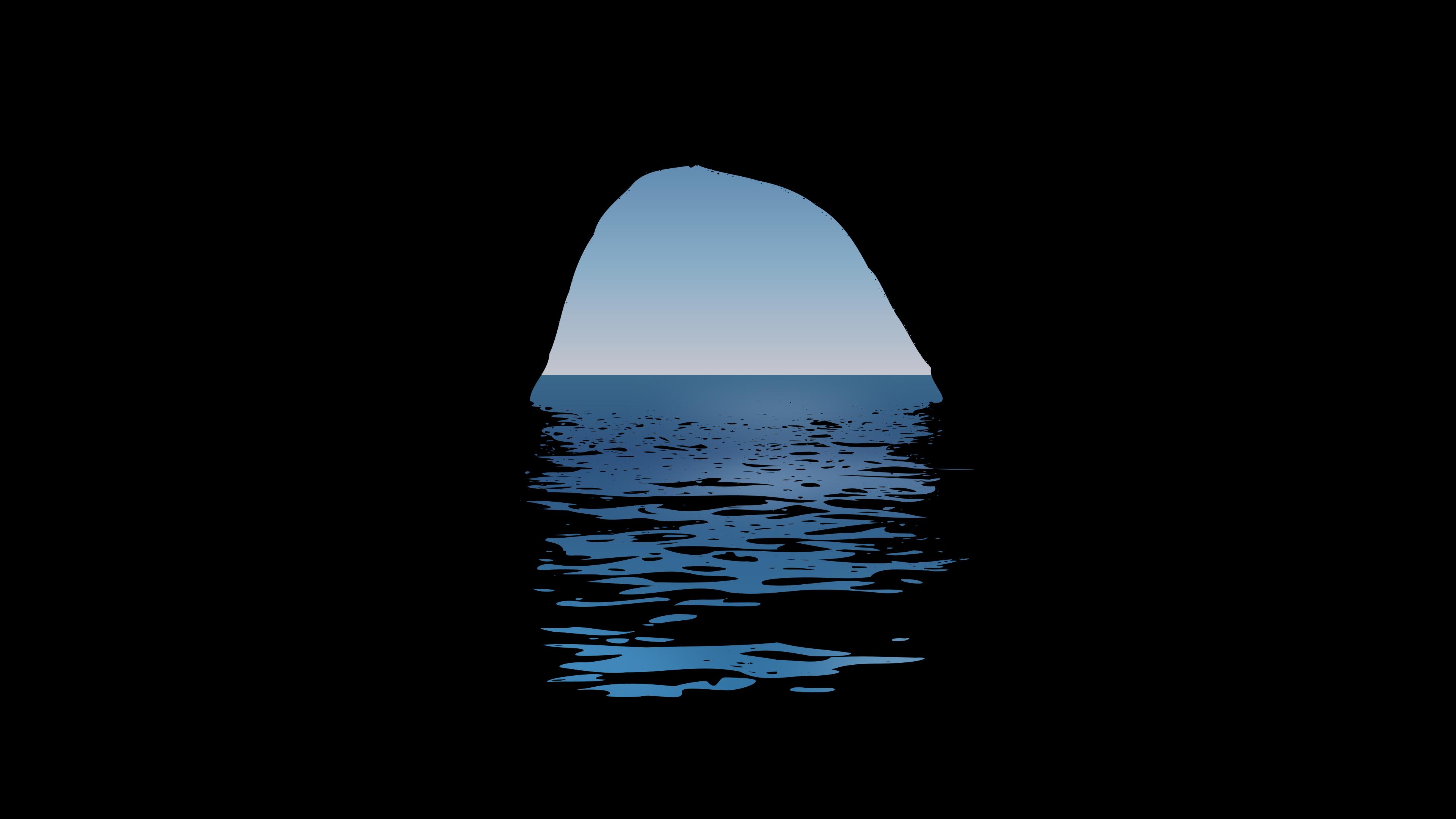 Cave Minimalist 4k, HD Artist, 4k Wallpapers, Images ...