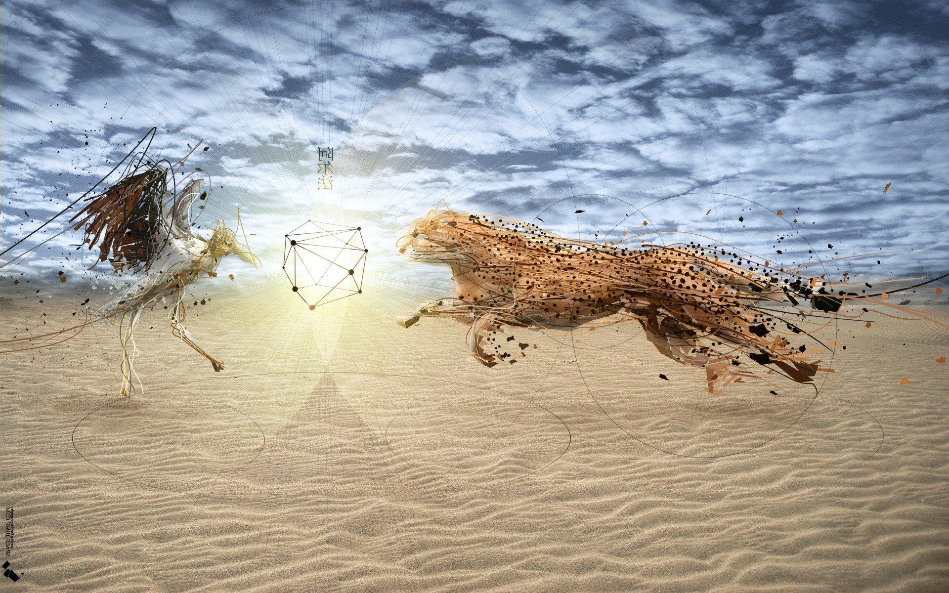 Digital Leopard Art Wallpapers: Cheetah Art, HD Artist, 4k Wallpapers, Images, Backgrounds