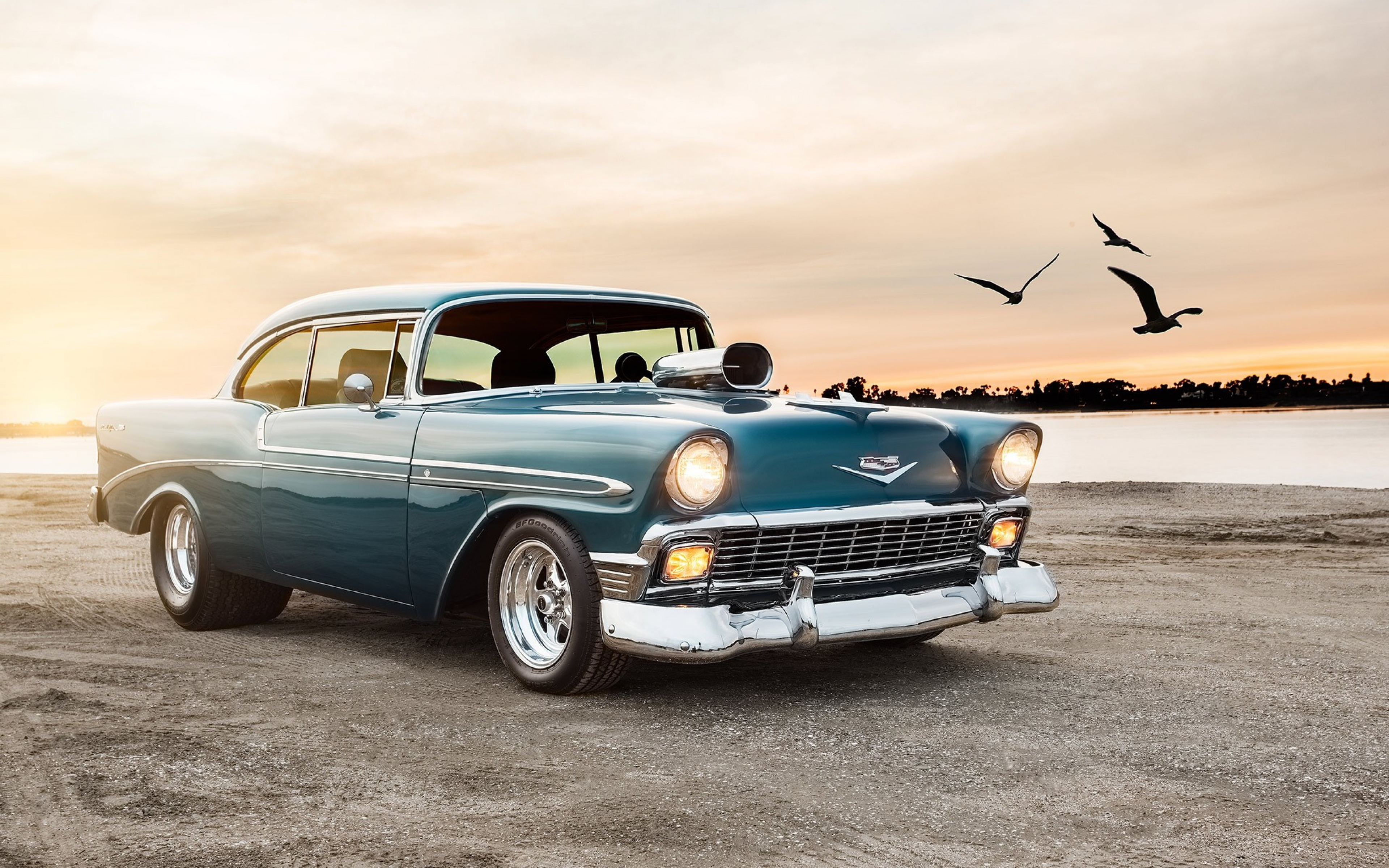 Chevrolet Bel Air Sport Coupe, HD Cars, 4k Wallpapers