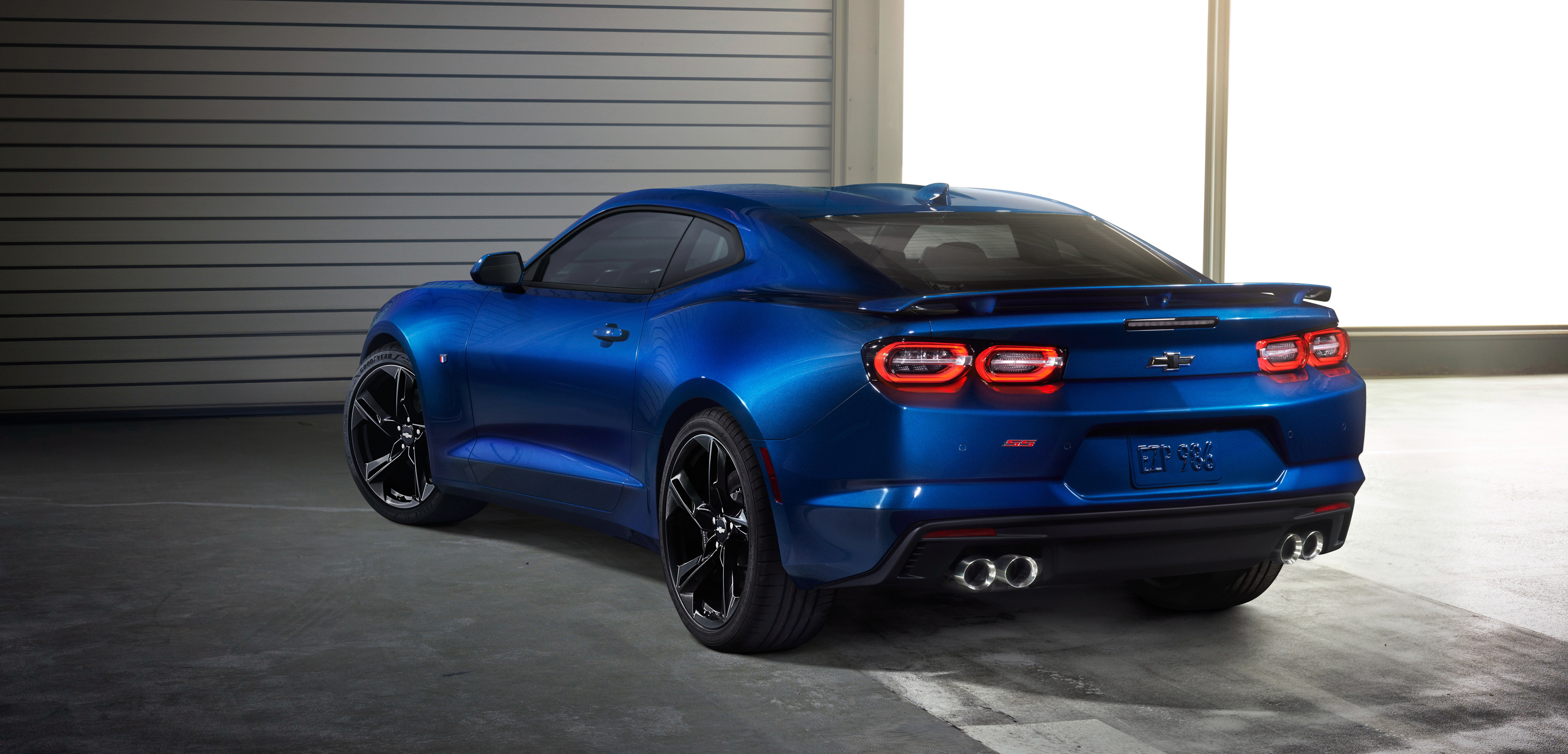 chevrolet camaro ss 2018 rear, hd cars, 4k wallpapers, images