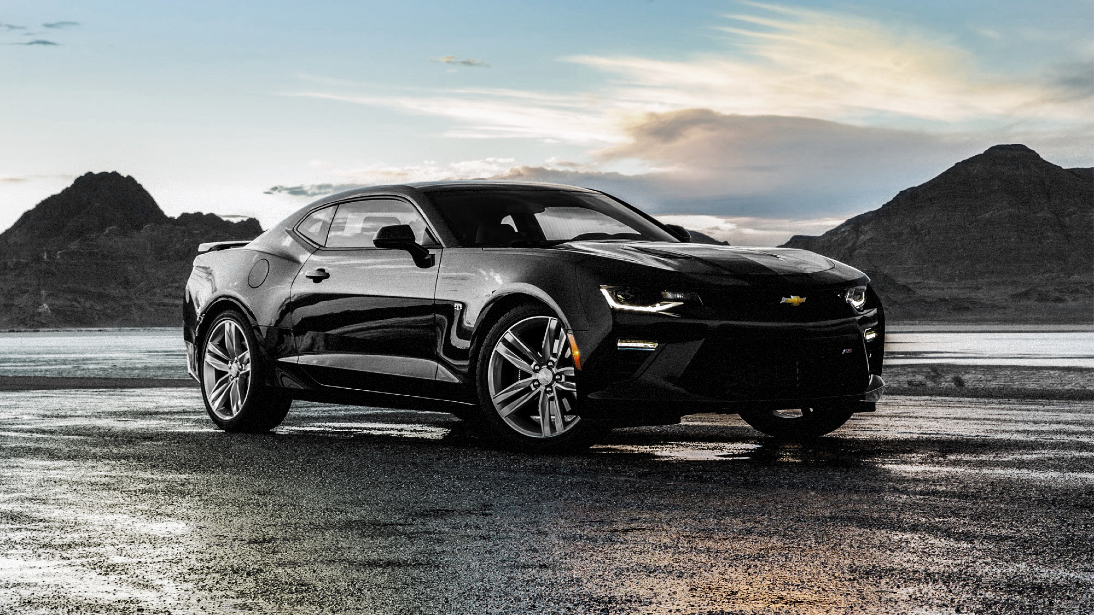 Chevrolet Camaro Ss Black Hd Cars 4k Wallpapers Images