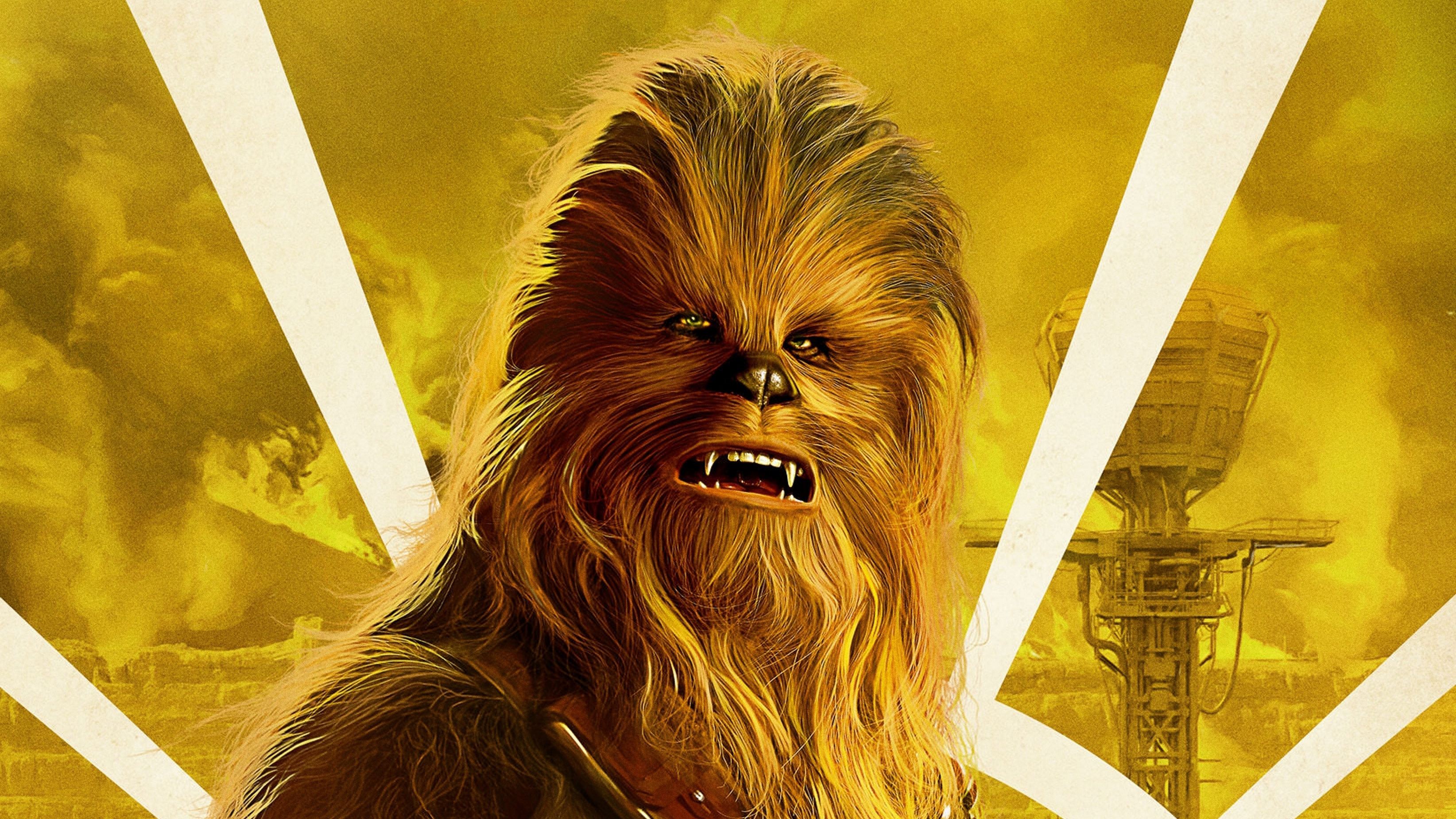 Chewbacca In Solo A Star Wars Story Movie, Hd Movies, 4K -3674
