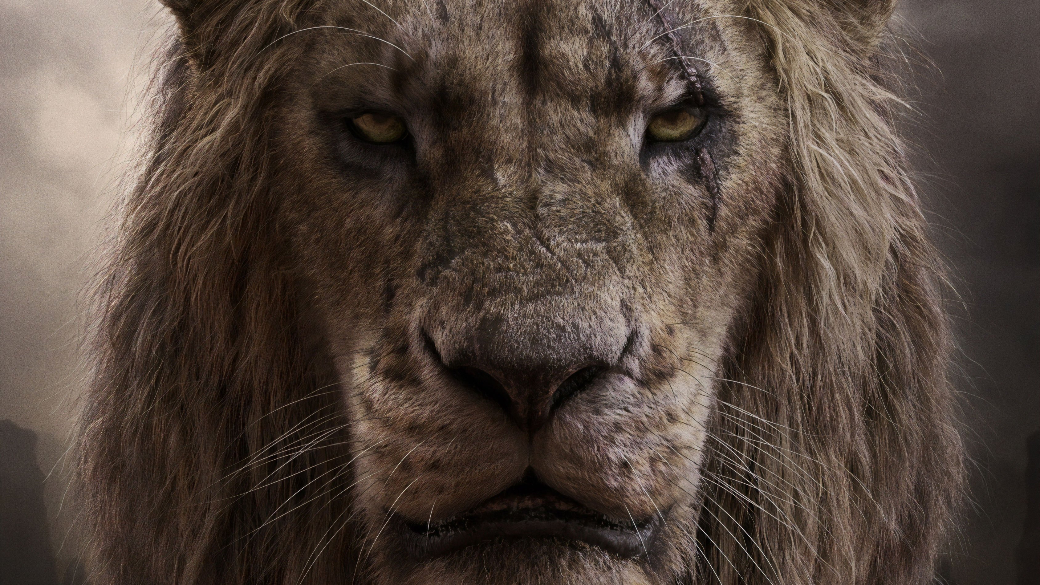 Chiwetel Ejiofor As Scar In The Lion King 2019 4k, HD