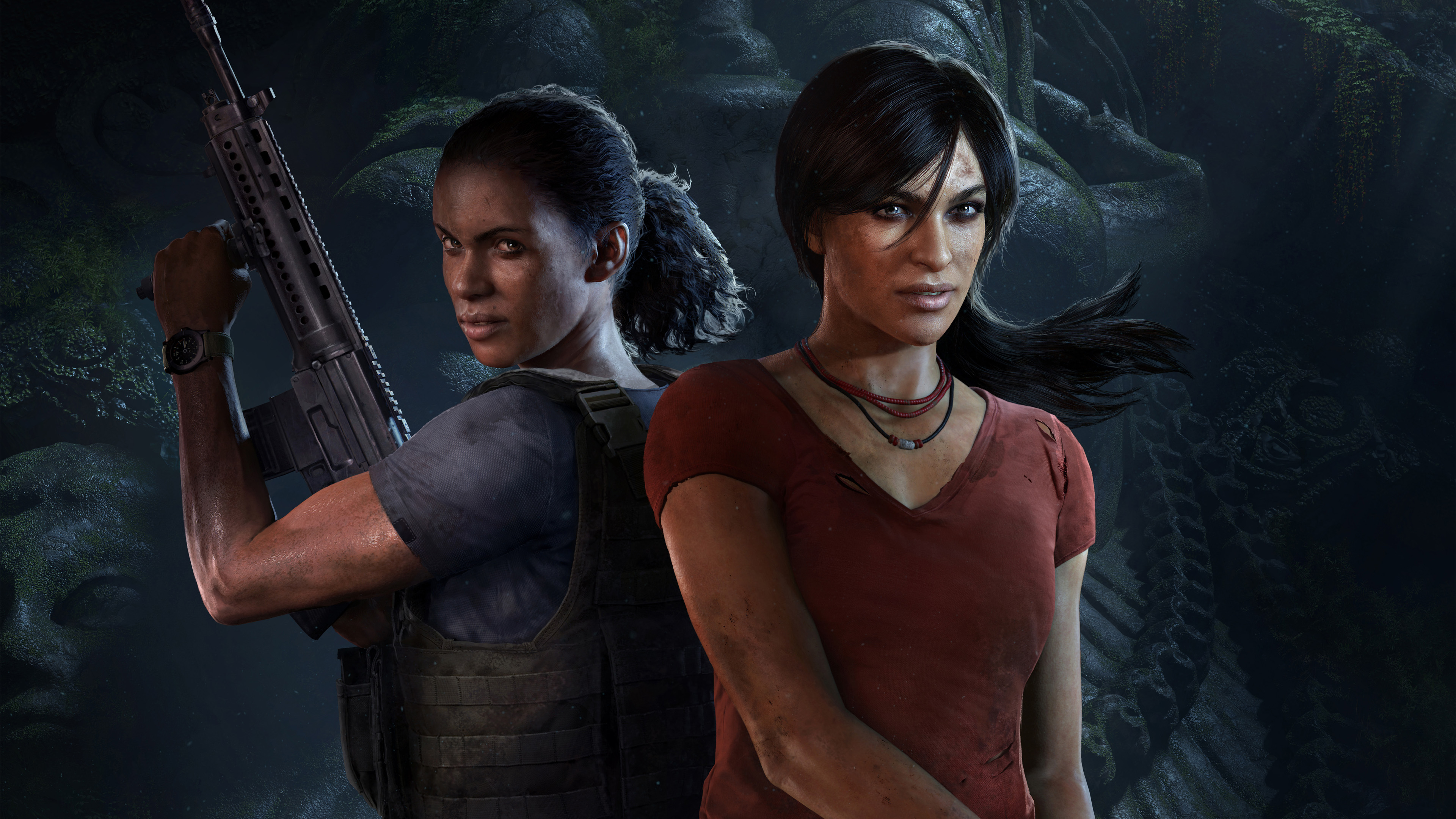 2932x2932 Pubg Android Game 4k Ipad Pro Retina Display Hd: 2932x2932 Chloe And Nadine Uncharted The Lost Legacy Ipad