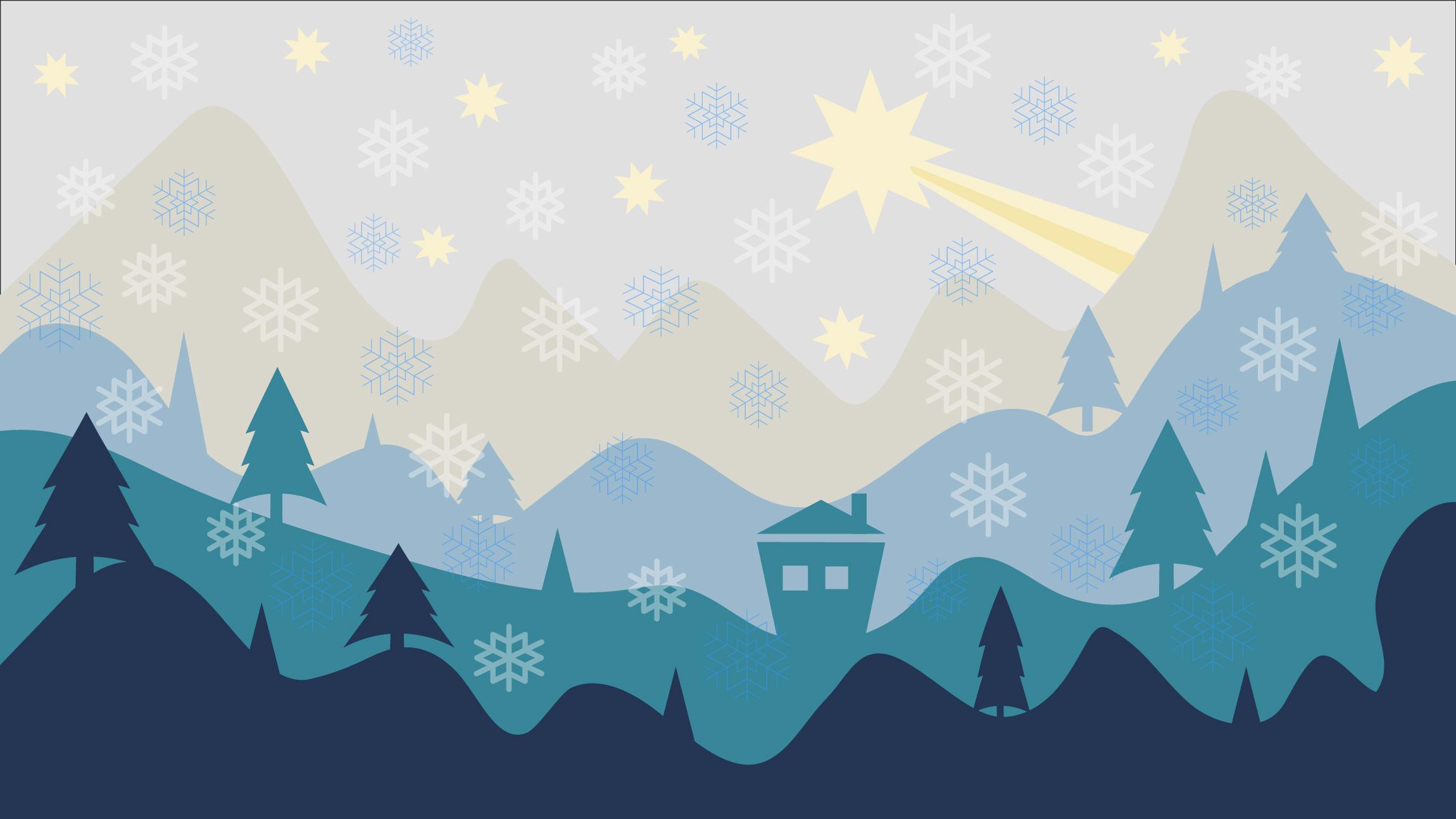 christmas flat design background hd celebrations 4k