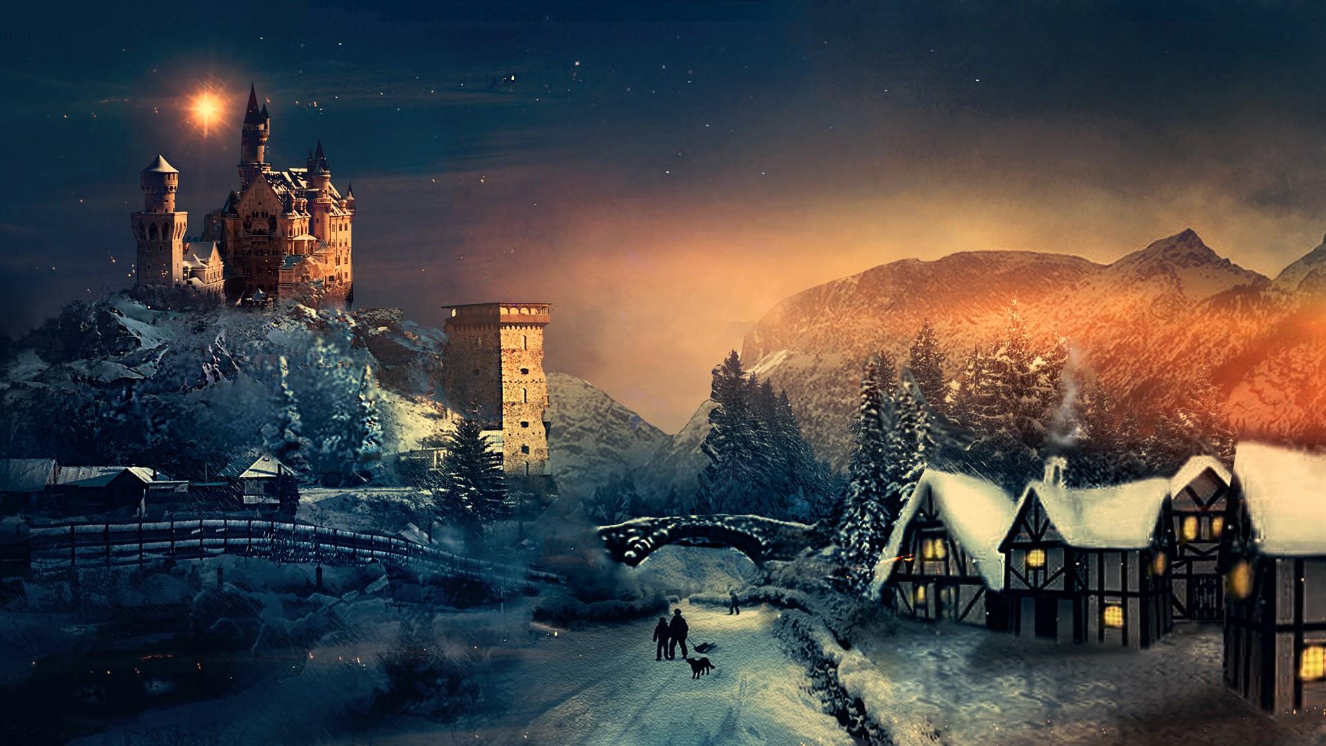 Christmas Winter Season, HD Celebrations, 4k Wallpapers