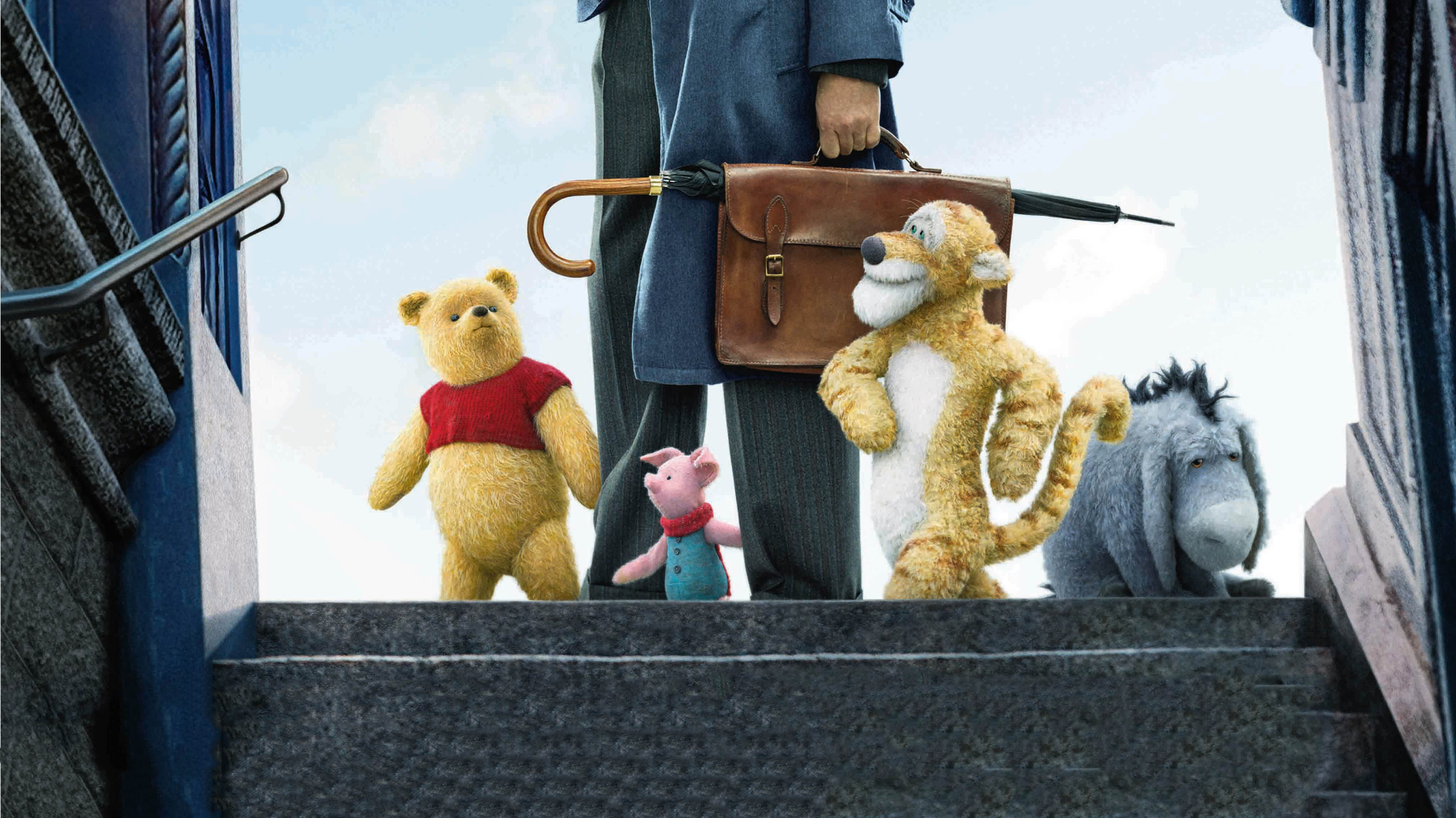 christopher robin movie poster hd movies 4k wallpapers