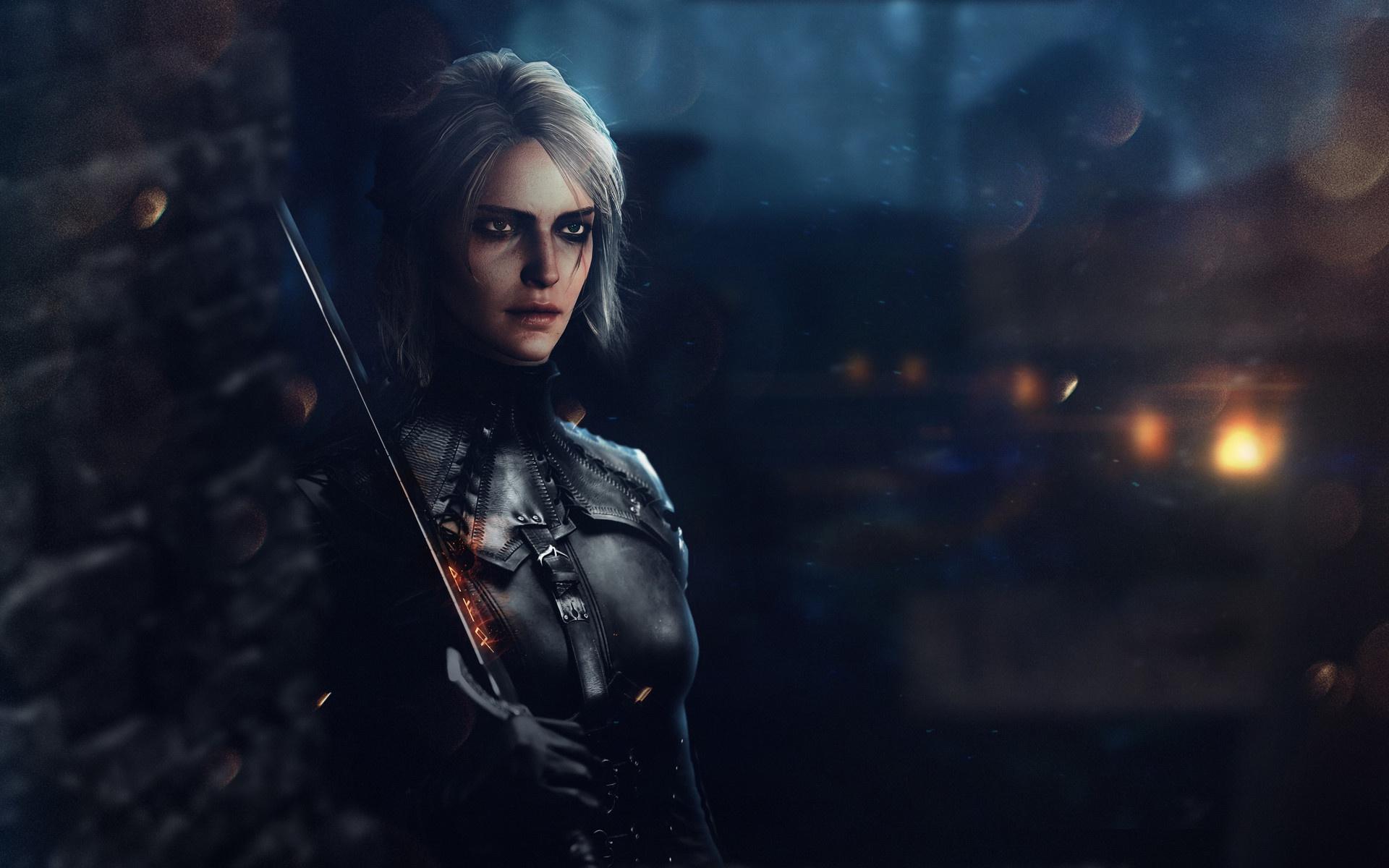 Ciri The Witcher 3 Wild Hunt Fantasy Art, HD Games, 4k ...