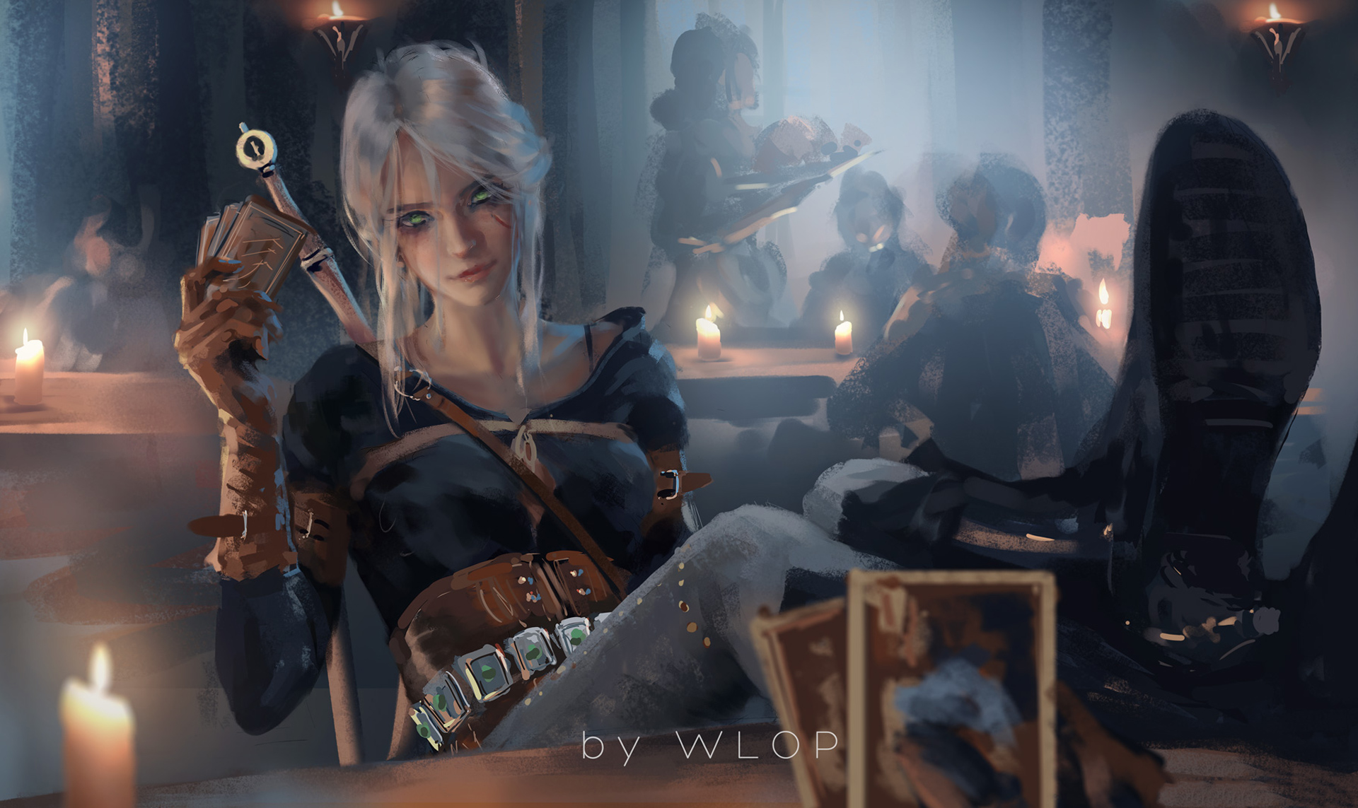 Ciri Witcher 3 Fanart Hd Games 4k Wallpapers Images