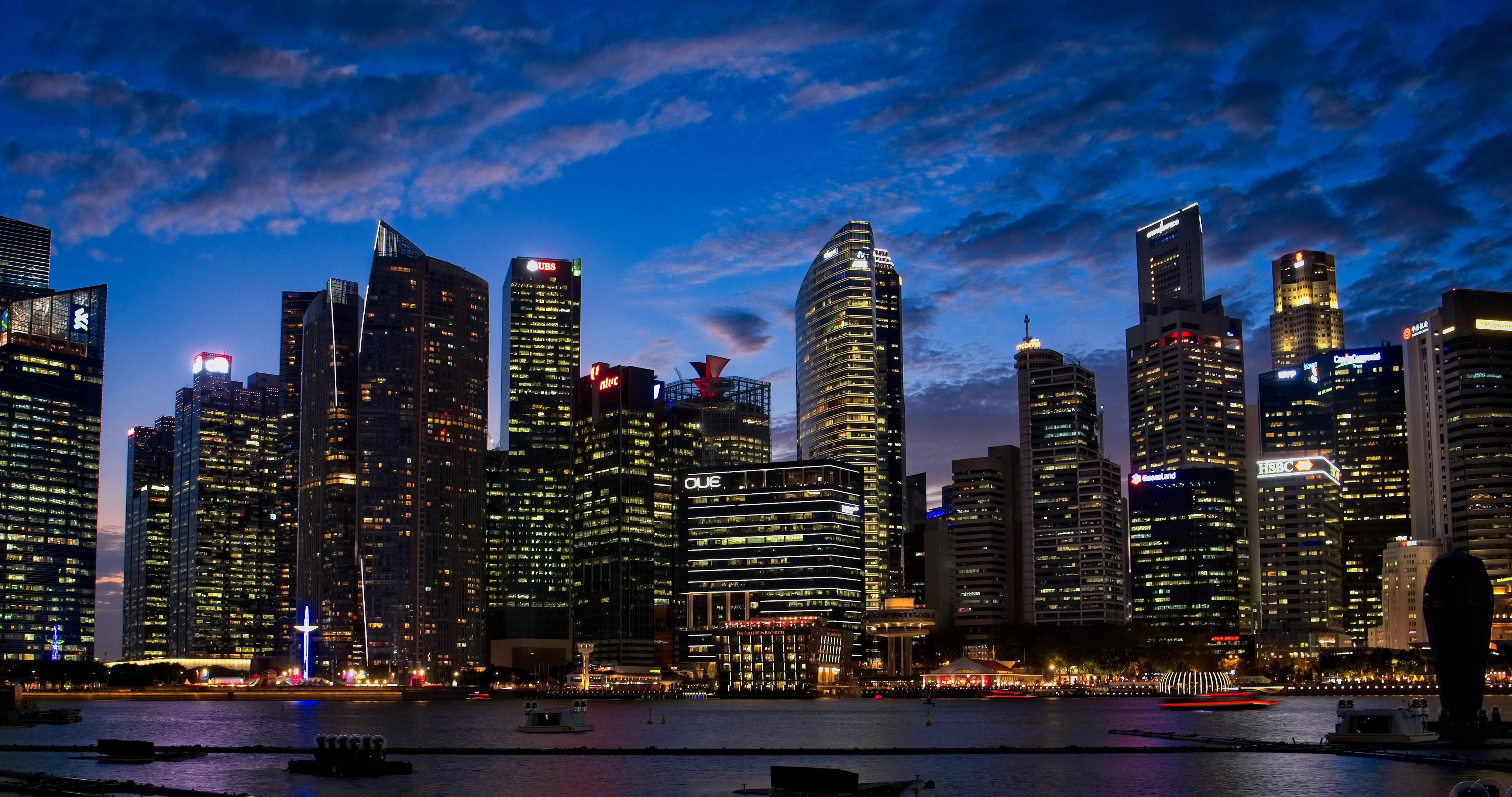 2048x1152 city lights buildings 4k 2048x1152 resolution hd