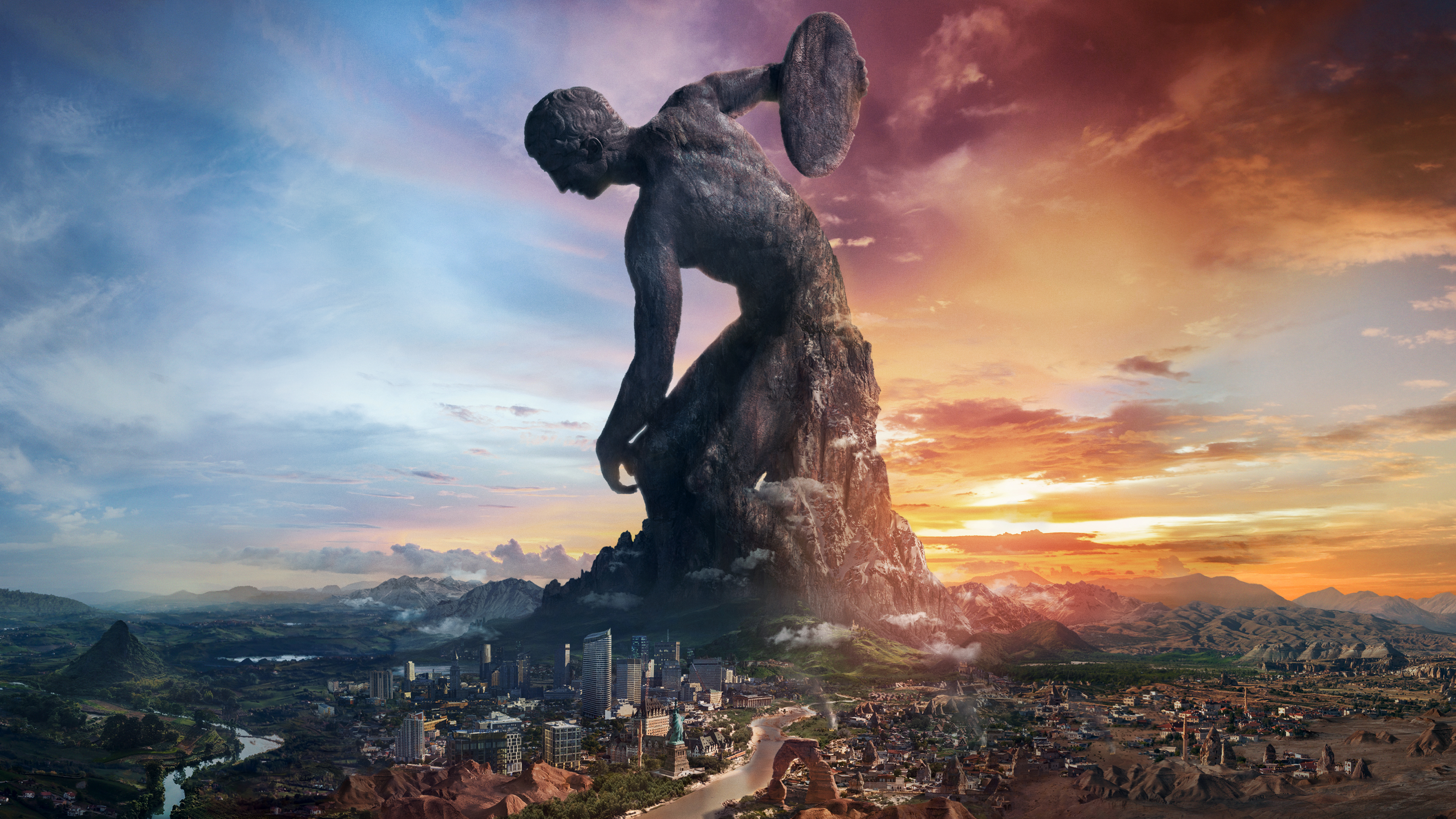 Civilization VI Rise And Fall, HD Games, 4k Wallpapers