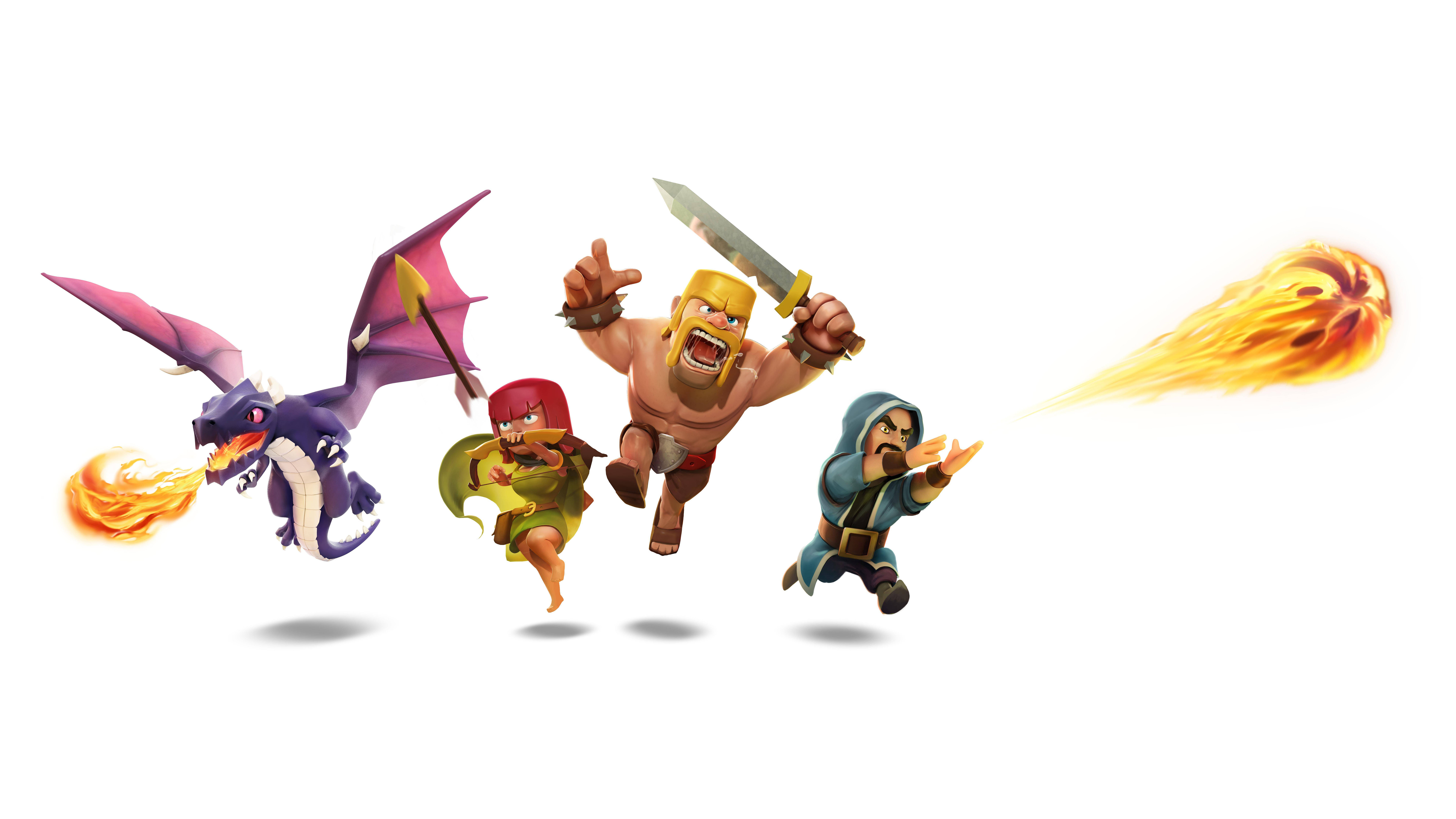 Barbarian Clash Of Clans Hd Hd Games 4k Wallpapers: Clash Of Clans 8k, HD Games, 4k Wallpapers, Images