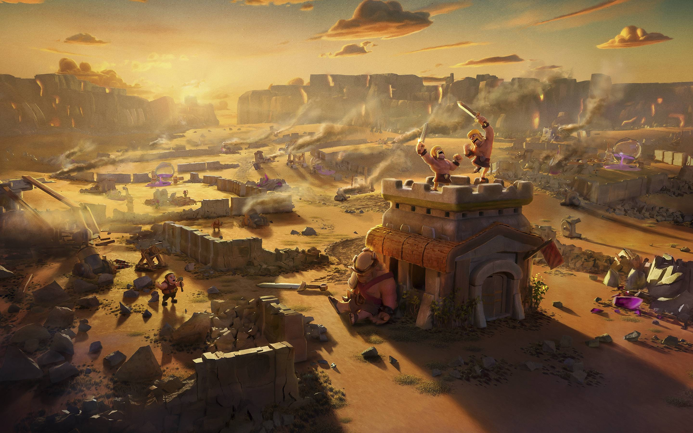 Clash Of Clans After War Hd Games 4k Wallpapers Images