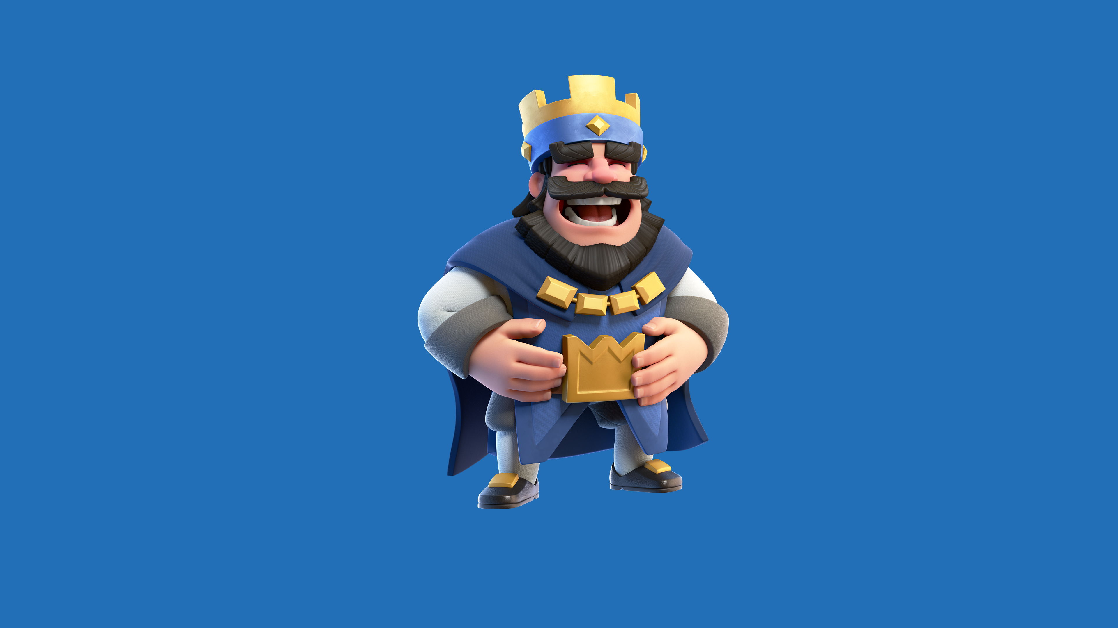 640x960 clash royale blue king iphone 4 iphone 4s hd 4k wallpapers images backgrounds photos - Clash royale 2560x1440 ...