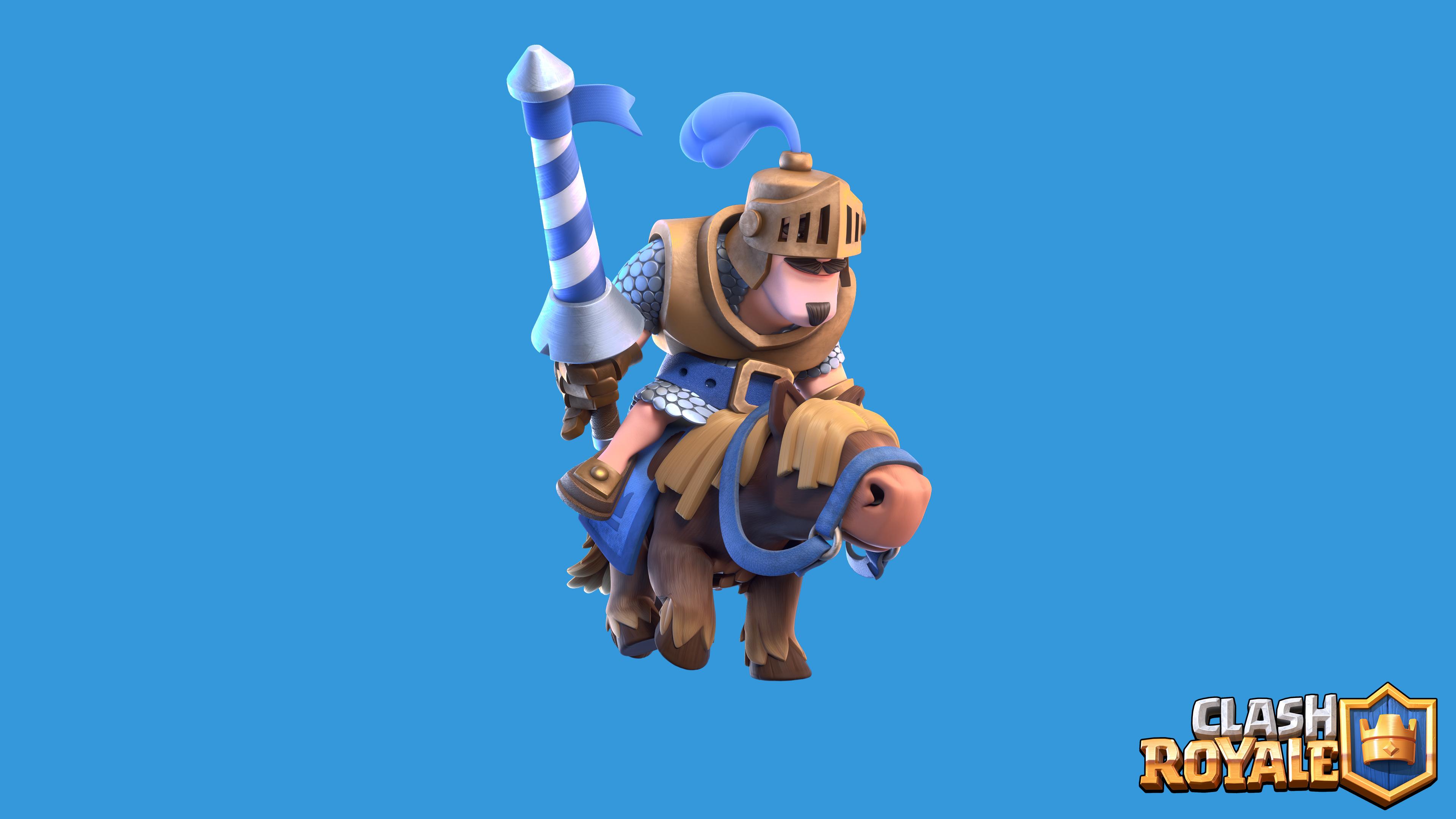 Clash Royale: Clash Royale Blue Prince 3, HD Games, 4k Wallpapers