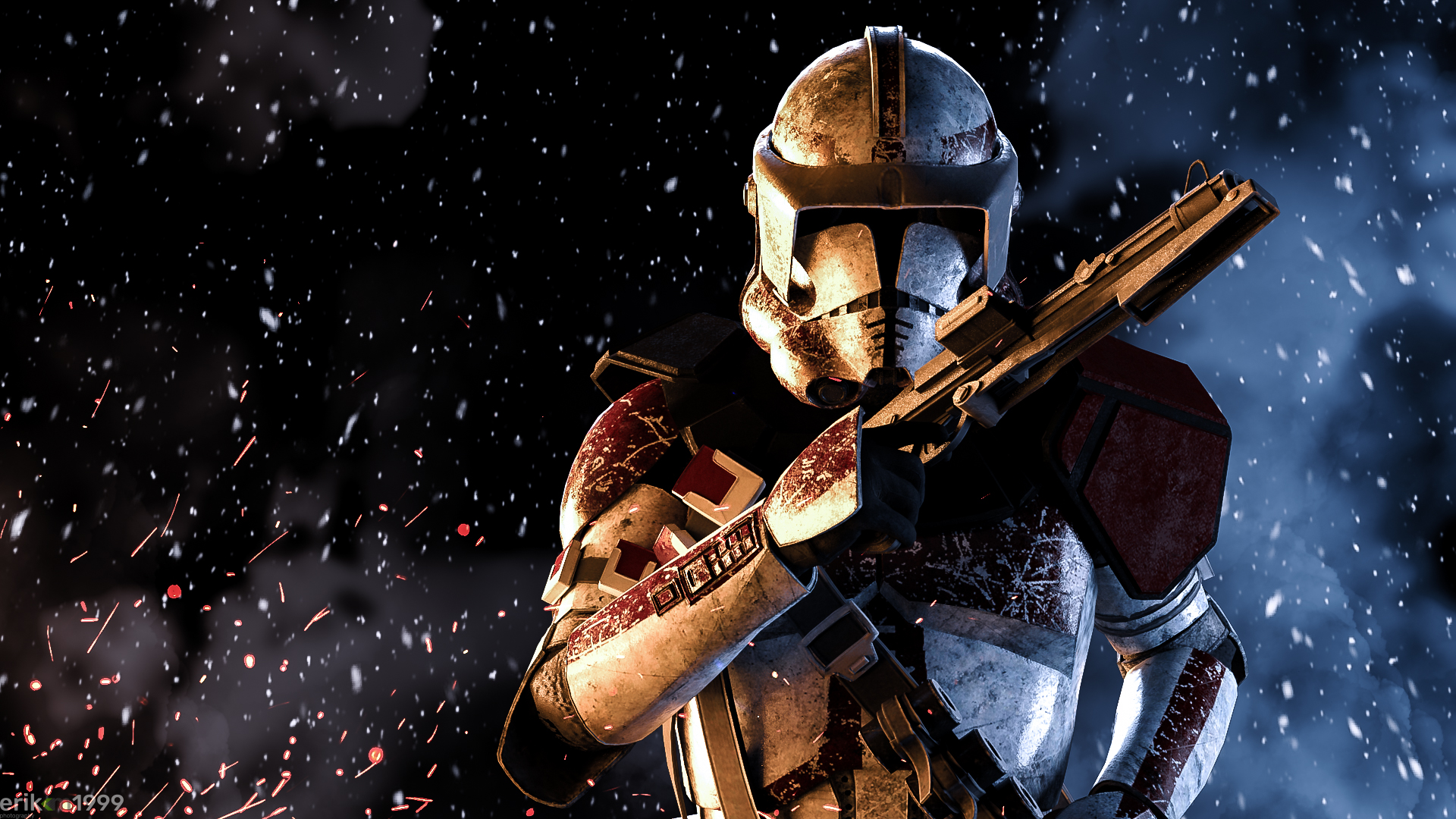 Star Wars The Clone Wars Wallpaper: 1920x1080 Clone Trooper Star Wars HD Laptop Full HD 1080P