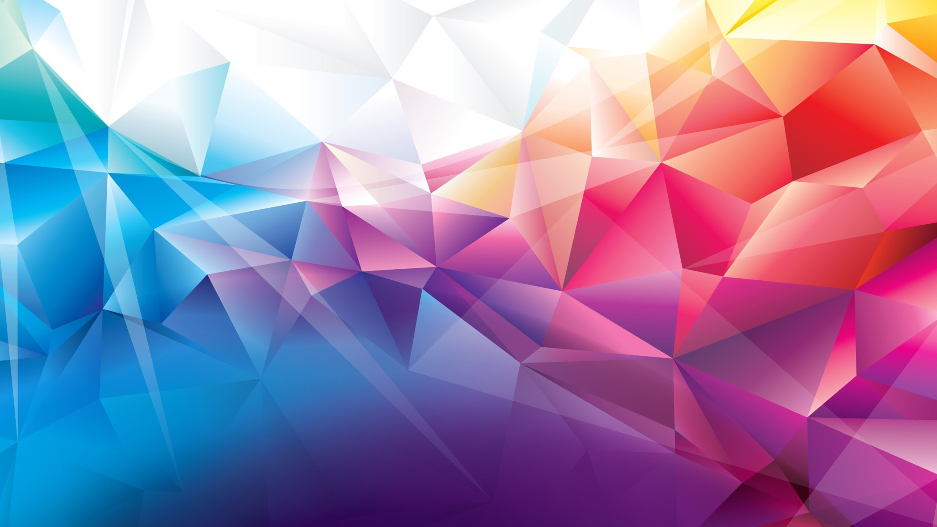 abstract polygonal colorful background - photo #2