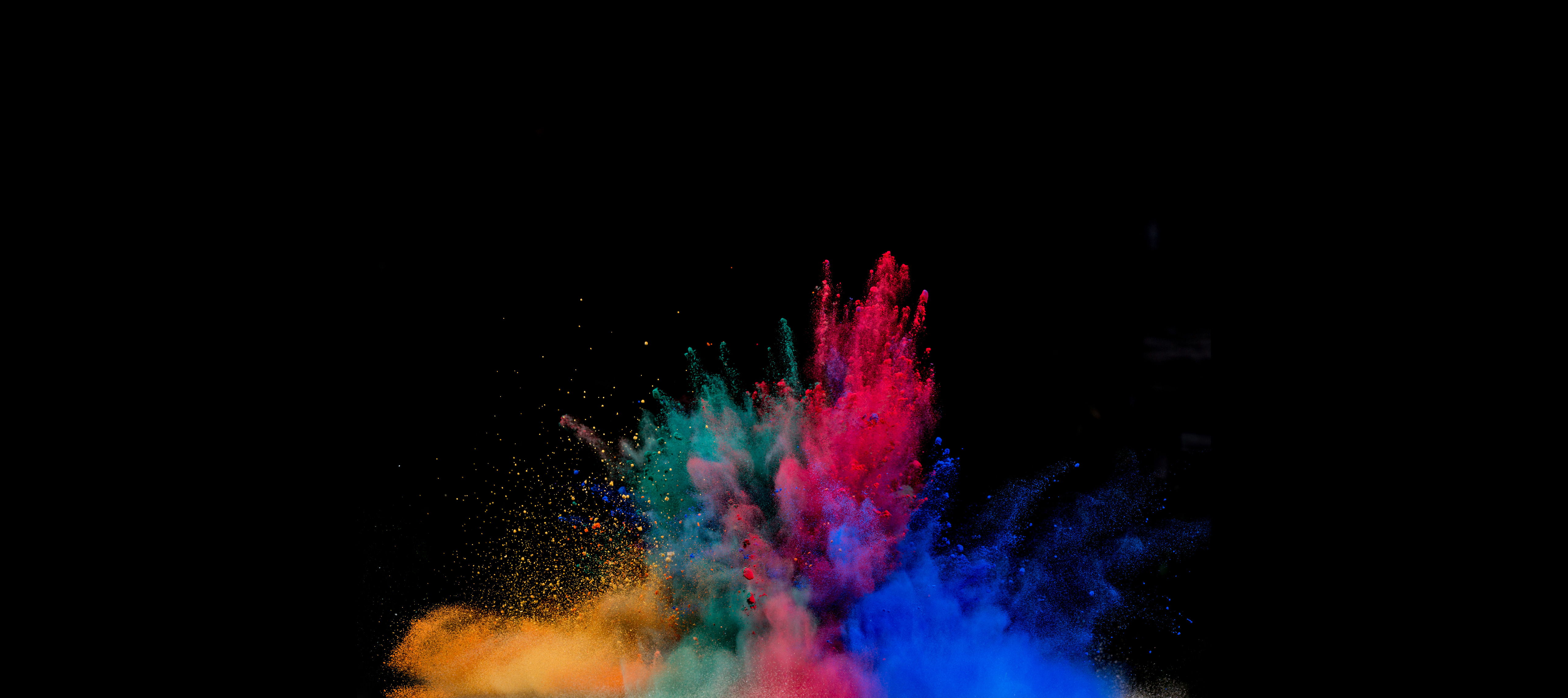 How To Add Color Colorful Powder Explosion Hd Artist 4k Wallpapers