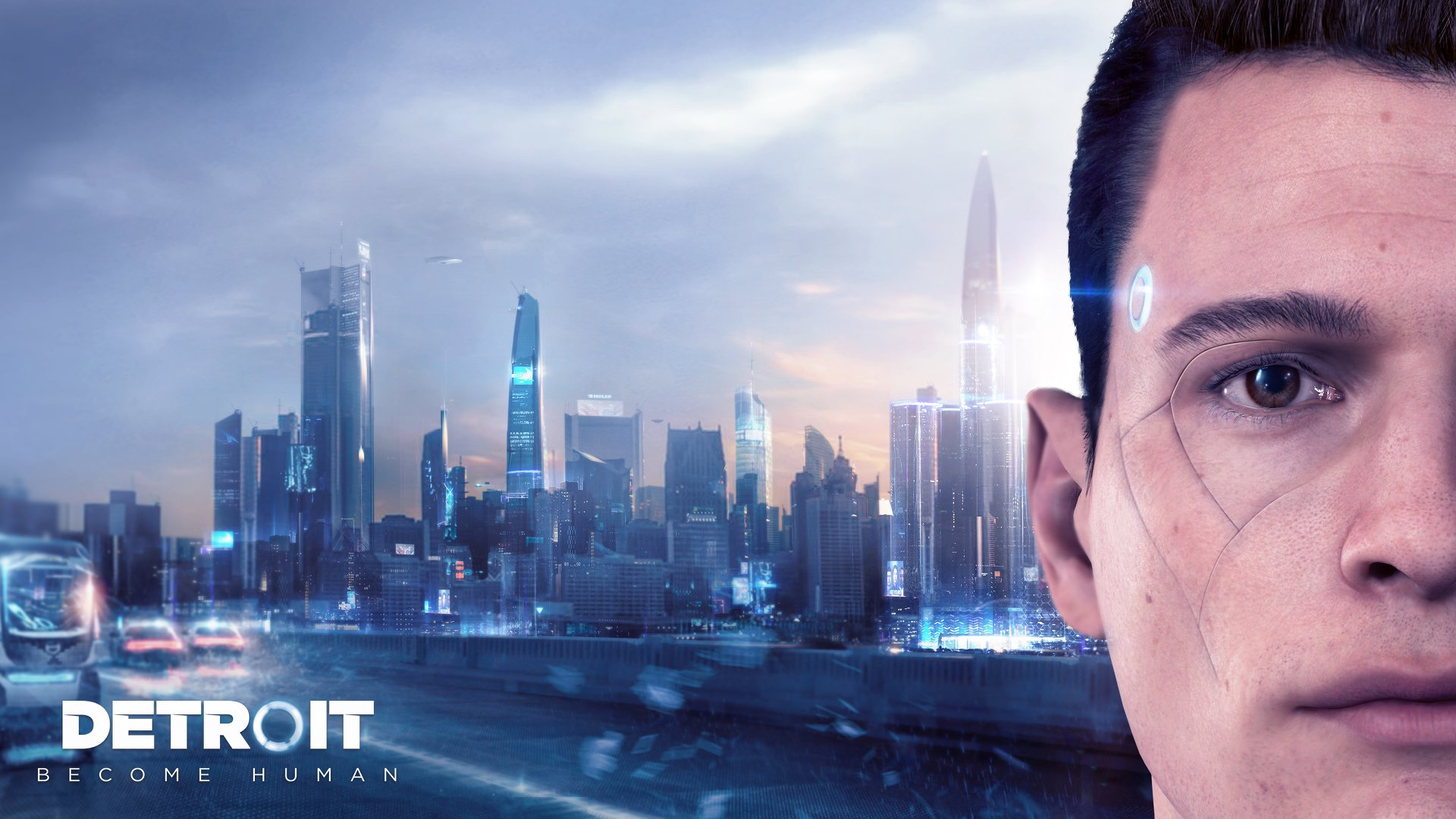Detroit Become Human Connor Wallpaper