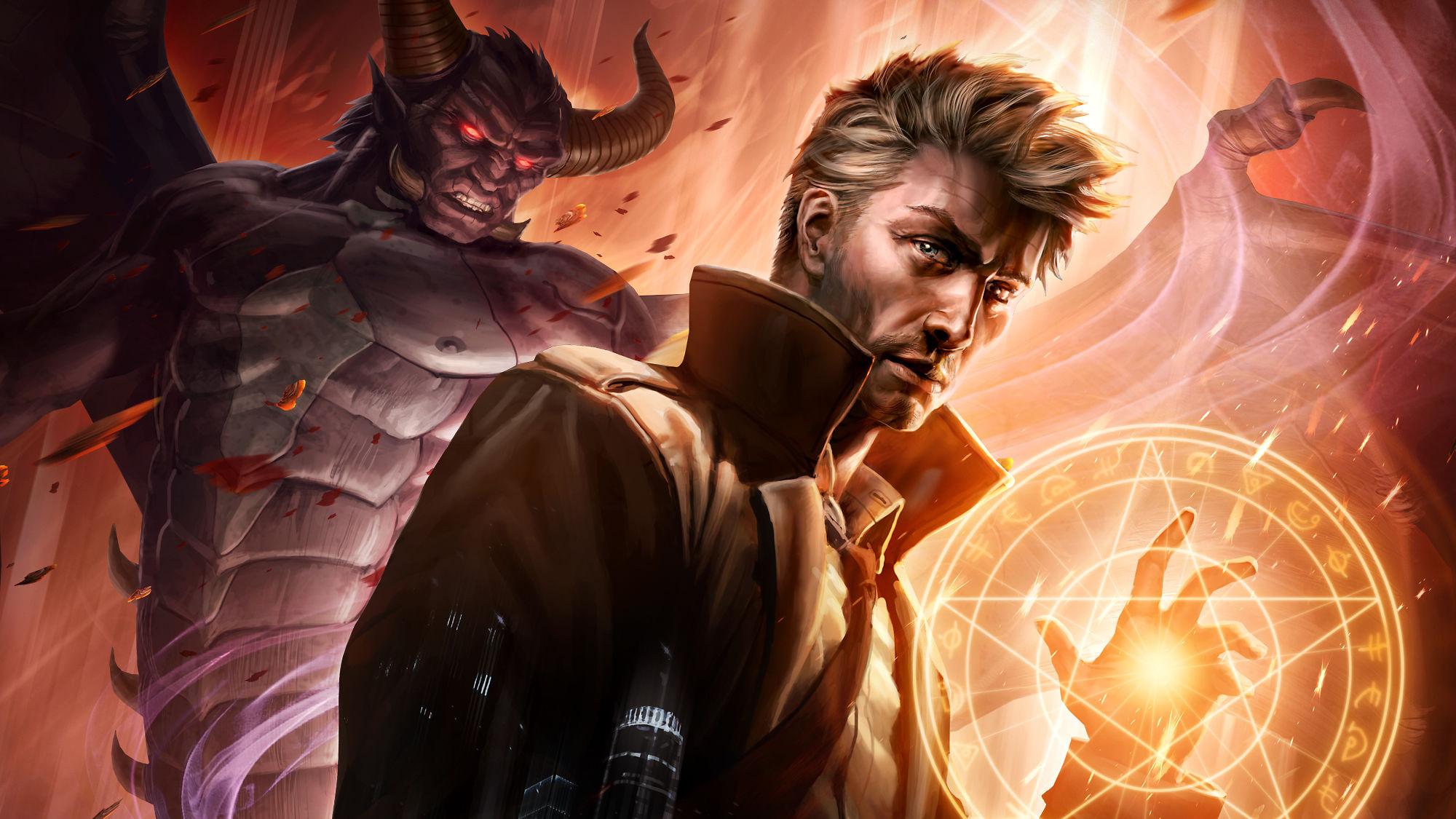 Constantine City Of Demons Hd Superheroes 4k Wallpapers
