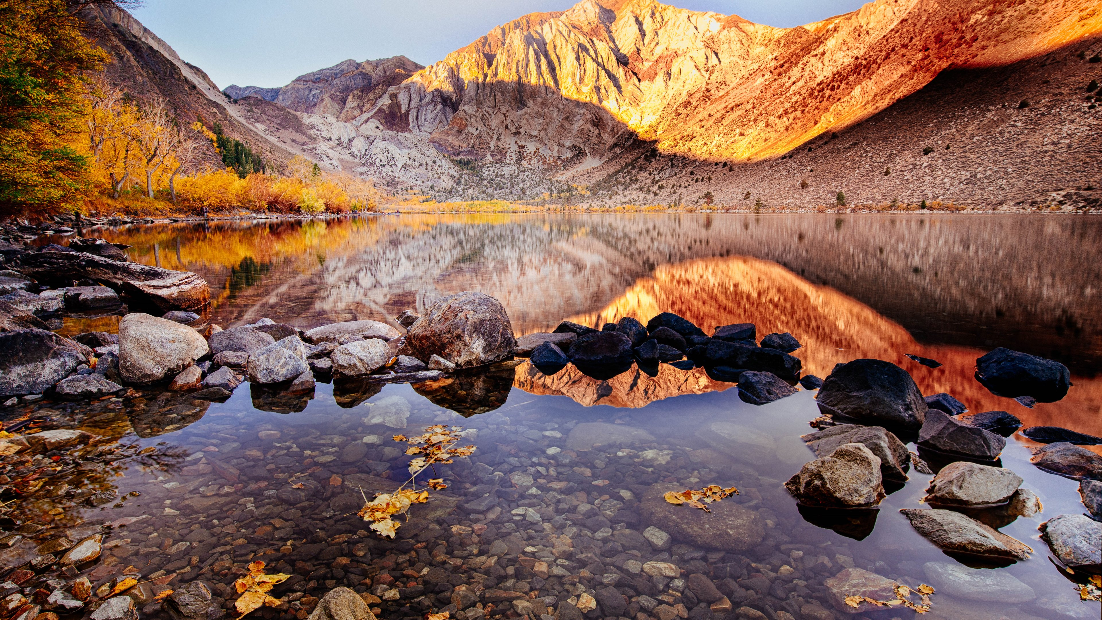 Convict Lake Autumn 4k Laptop HD