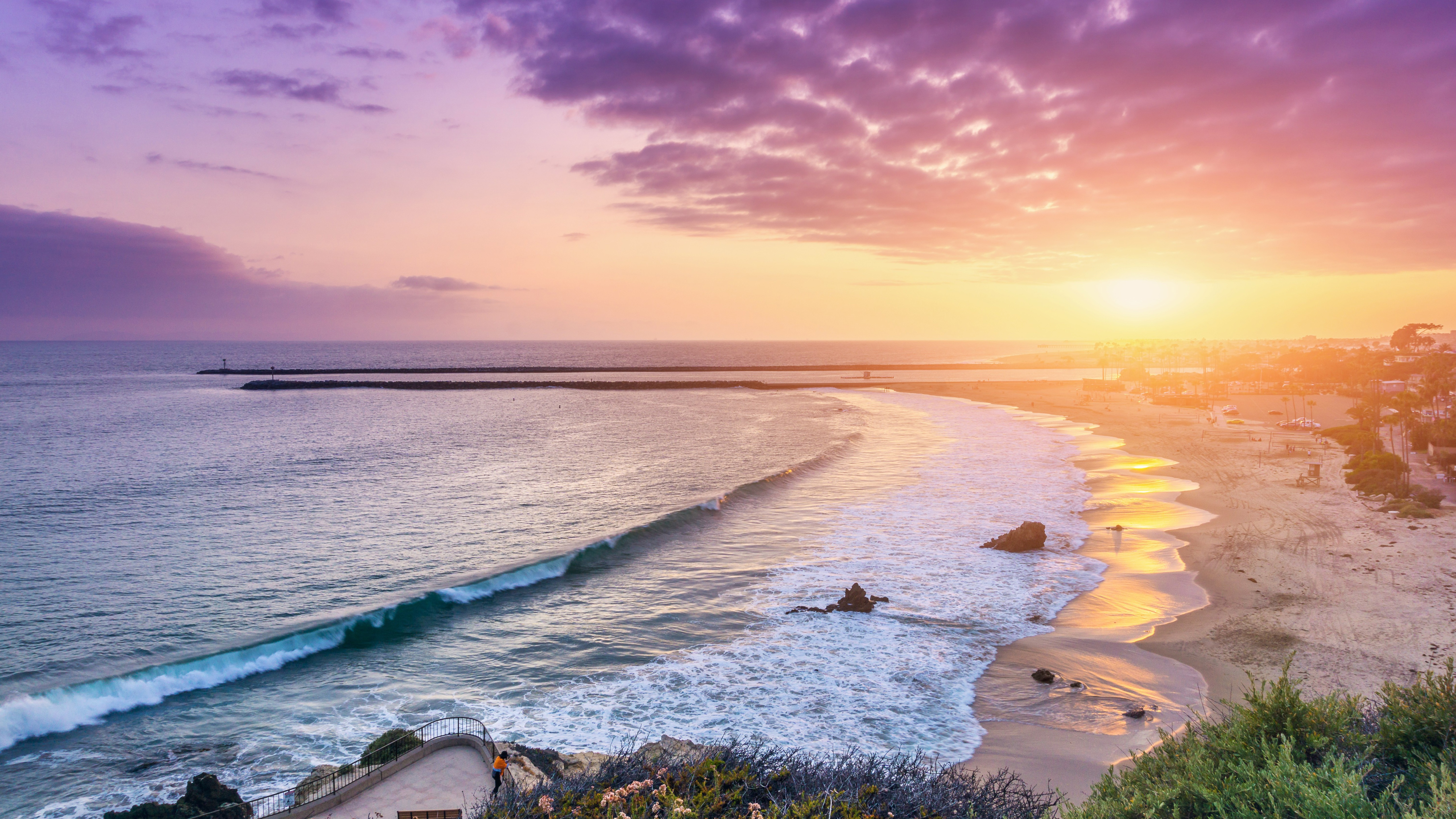 Corona Del Mar Newport Beach 5k Hd Nature 4k Wallpapers
