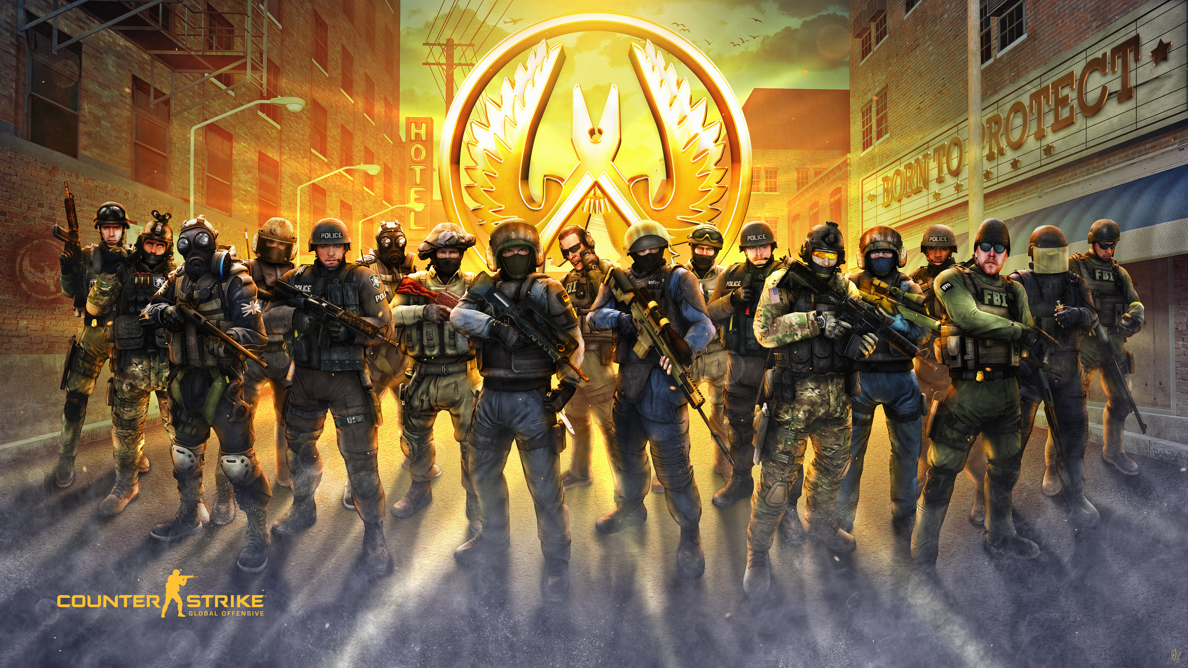 Counter Strike Global Offensive Guardians Hd Games 4k Wallpapers