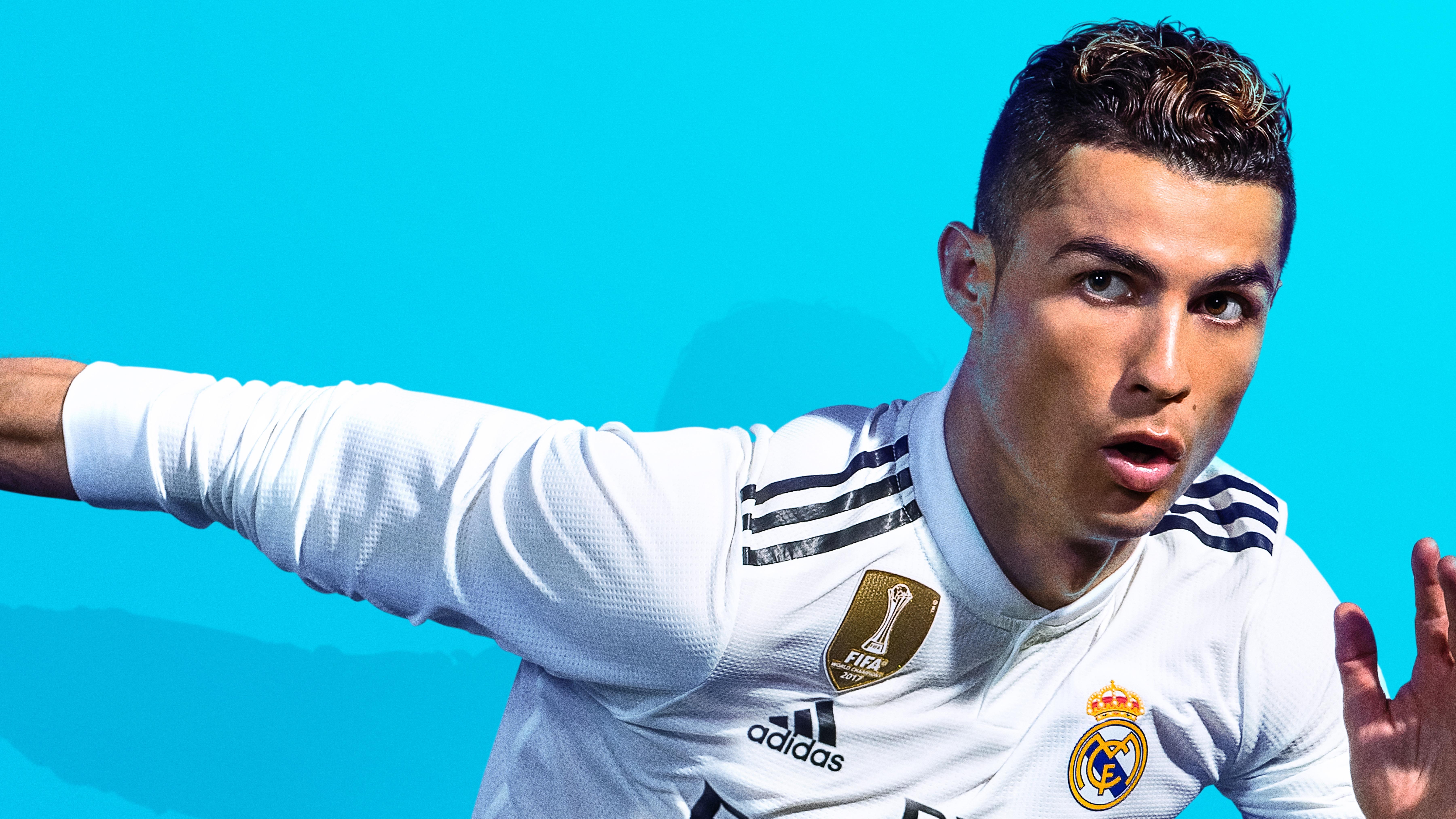 Cristiano Ronaldo Fifa 19 8k Hd Games 4k Wallpapers