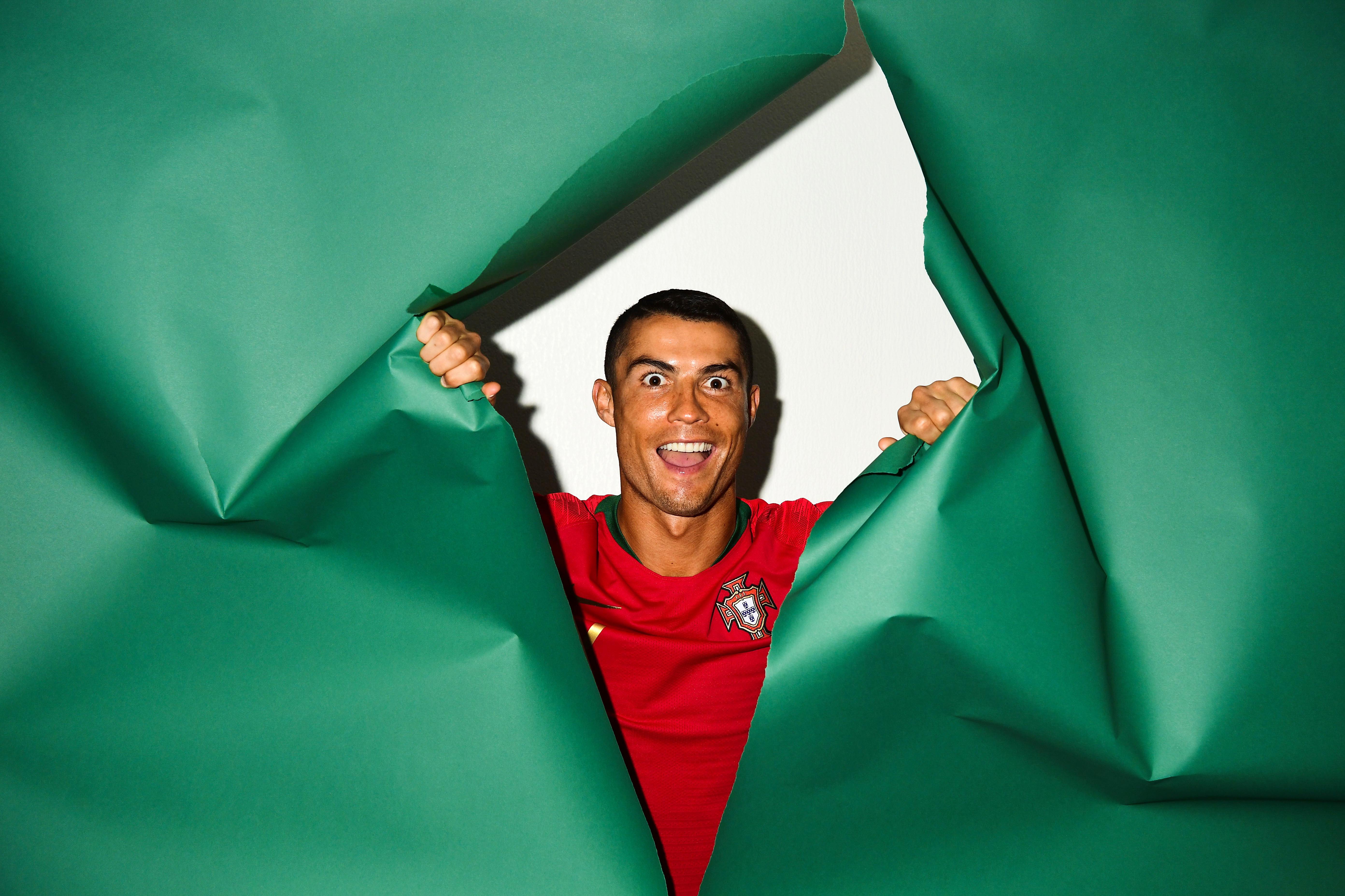 1920x1080 Cristiano Ronaldo Portugal Portrait 2018 Laptop