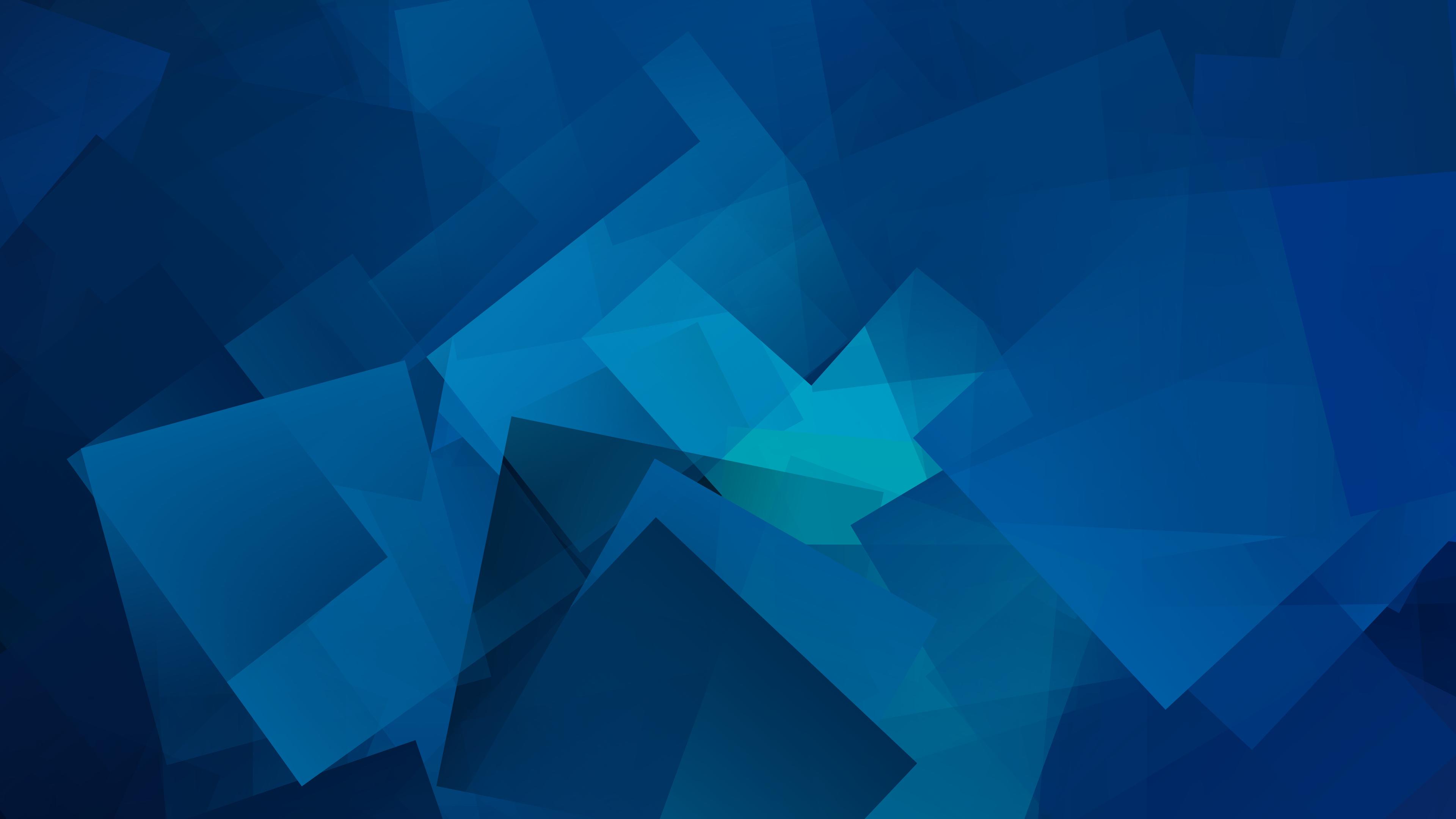Cube Geometry Gradient 4k