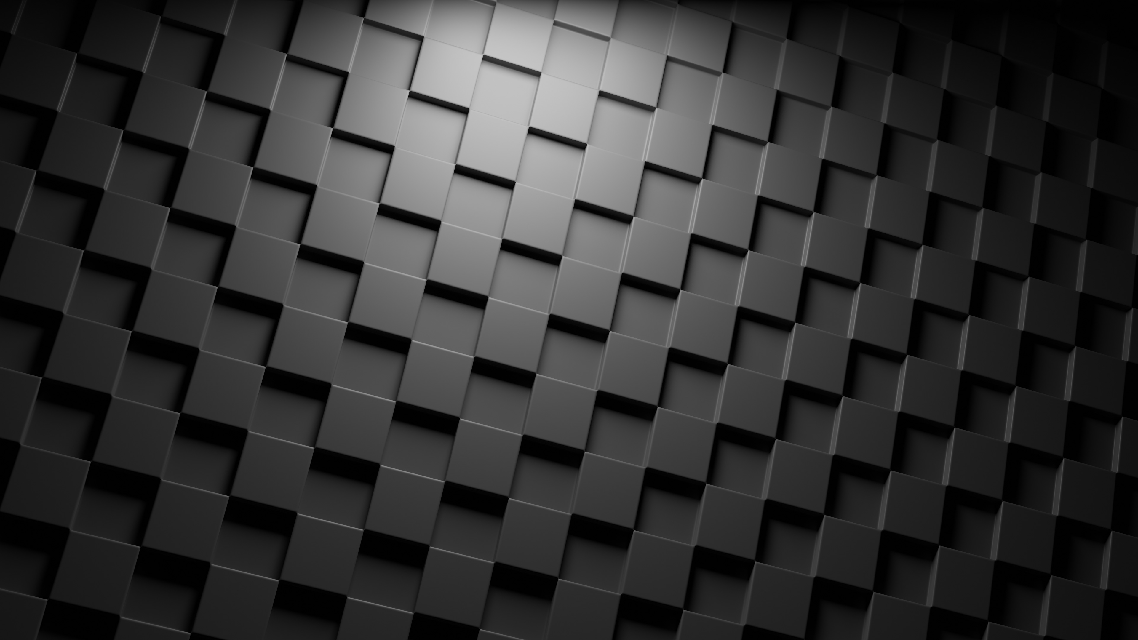 D Dark Cubes Wallpaper for Android Android Live Wallpaper