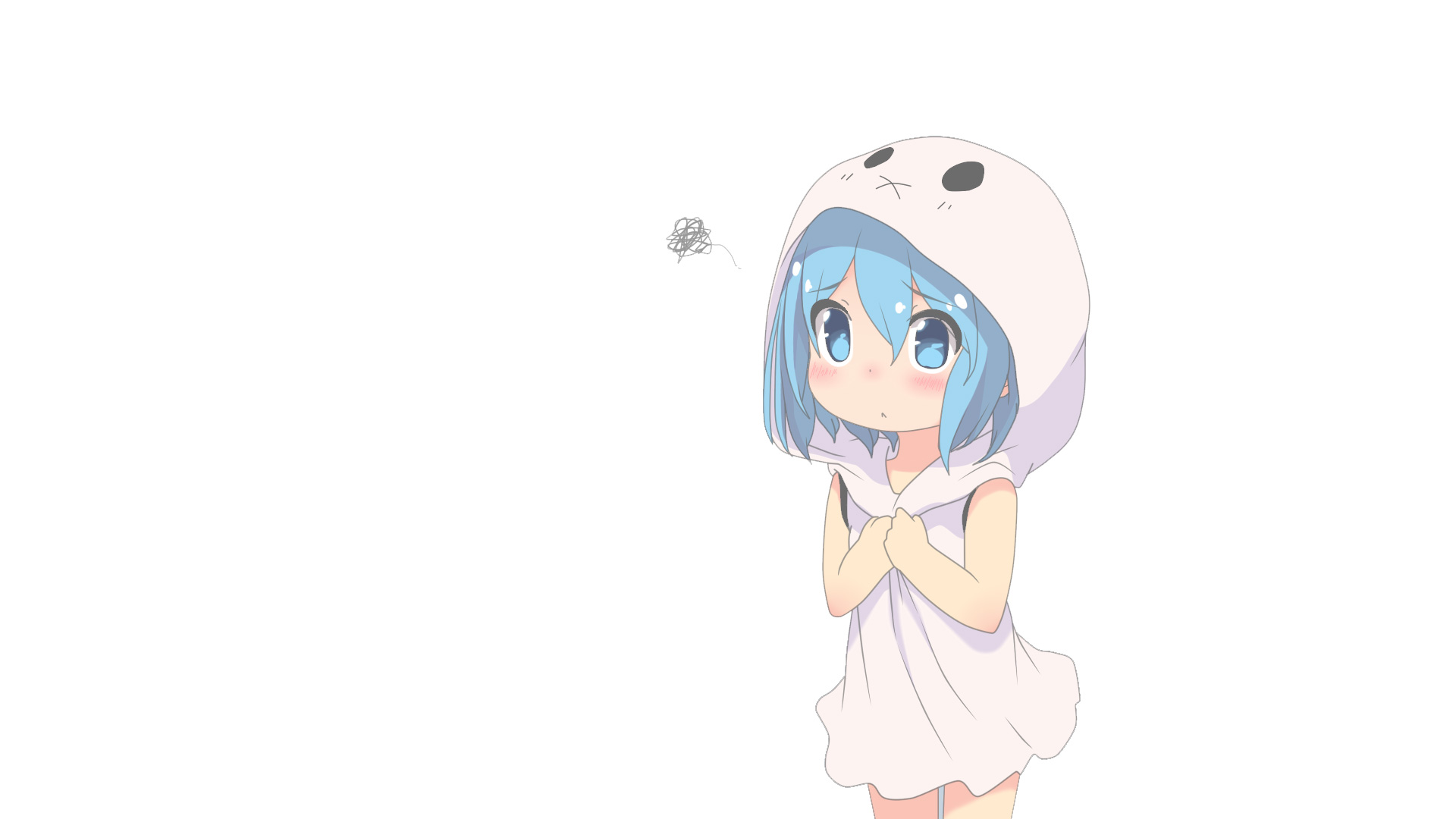 Cute Anime Little Girl