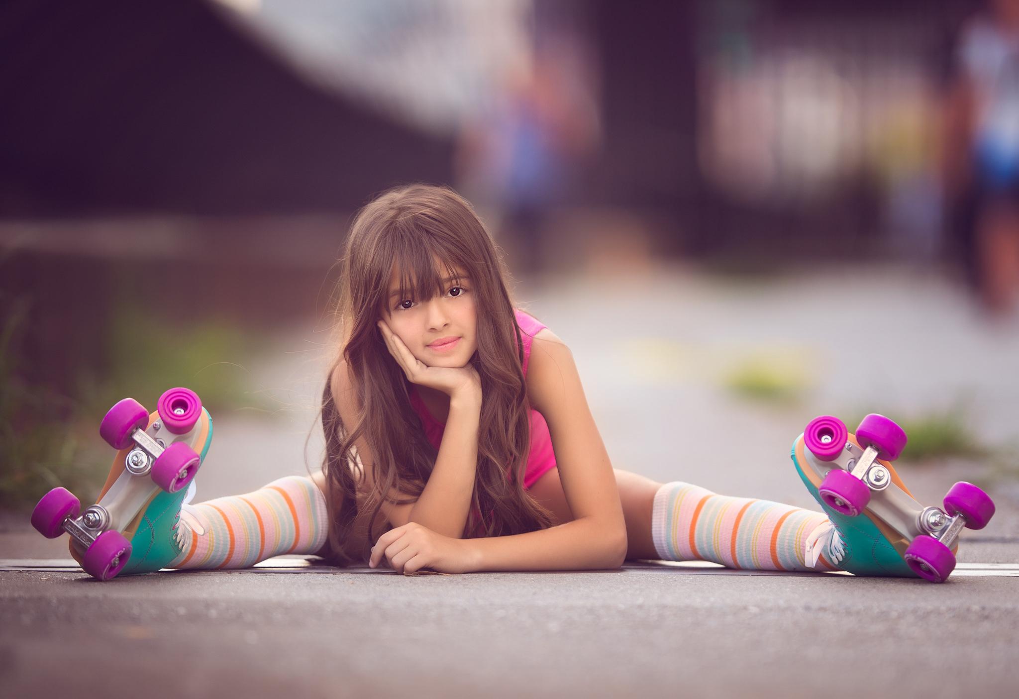 3840x2160 cute little girl skater 4k hd 4k wallpapers - Cute little girl pic hd ...