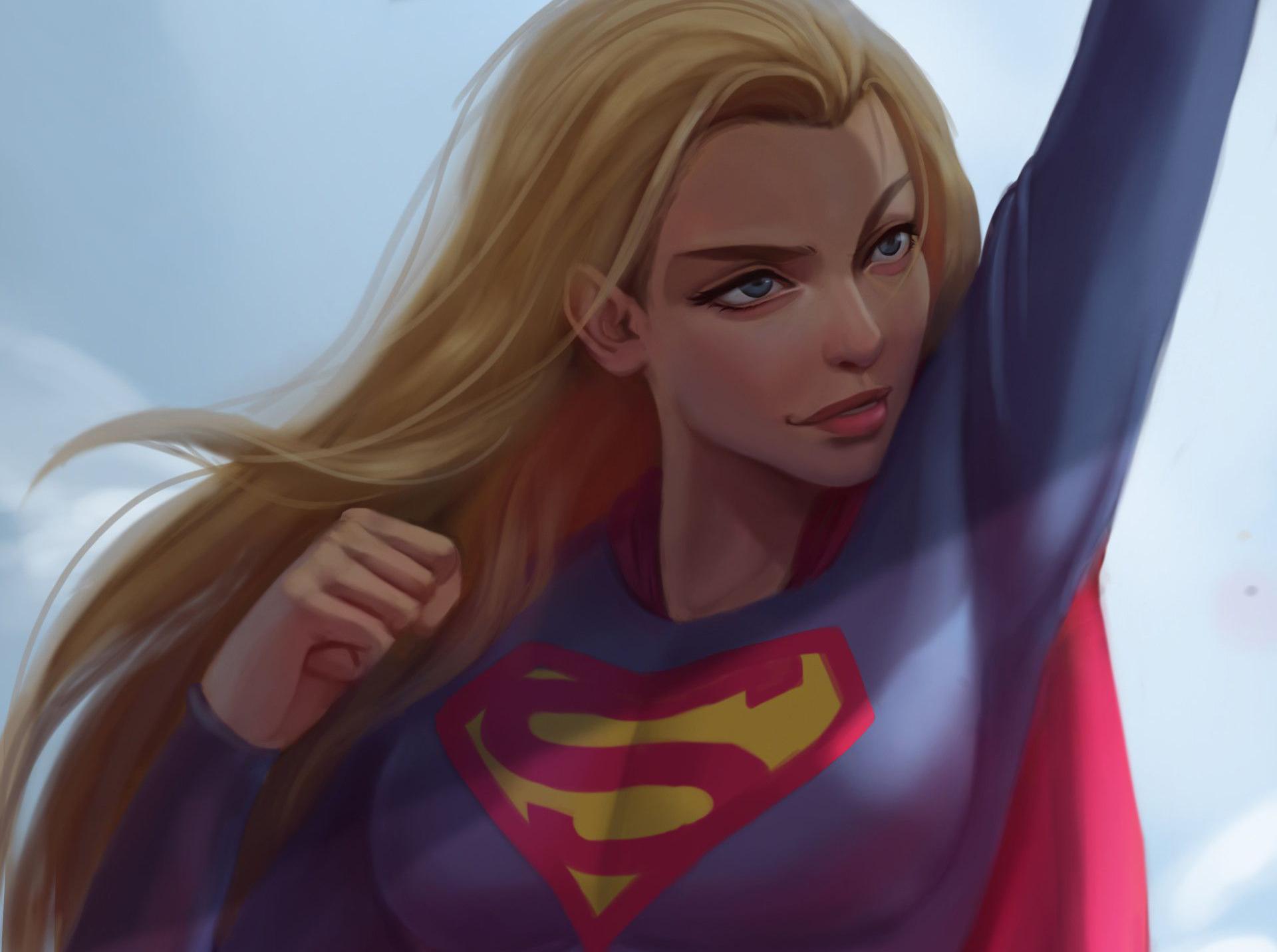 Cute Supergirl Artwork, HD Superheroes, 4k Wallpapers ...