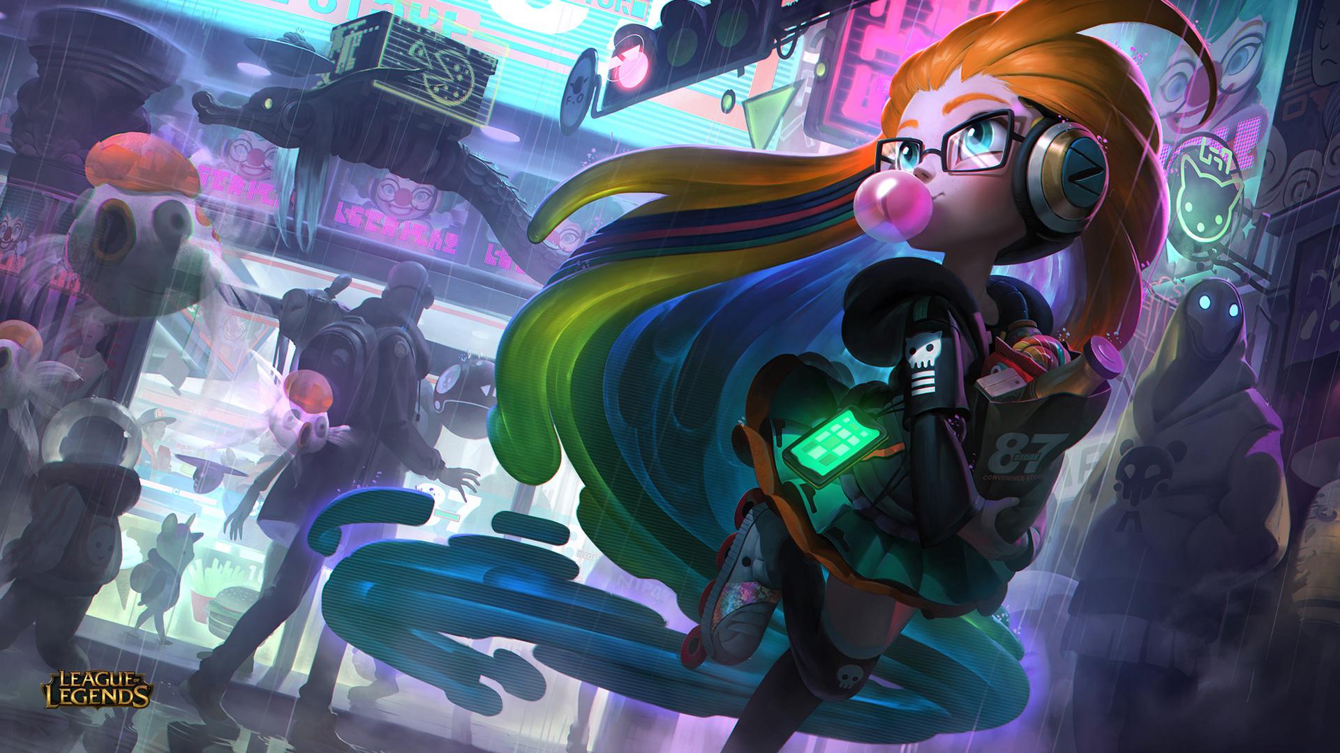 Cyberpop Zoe League Of Legends Hd Games 4k Wallpapers