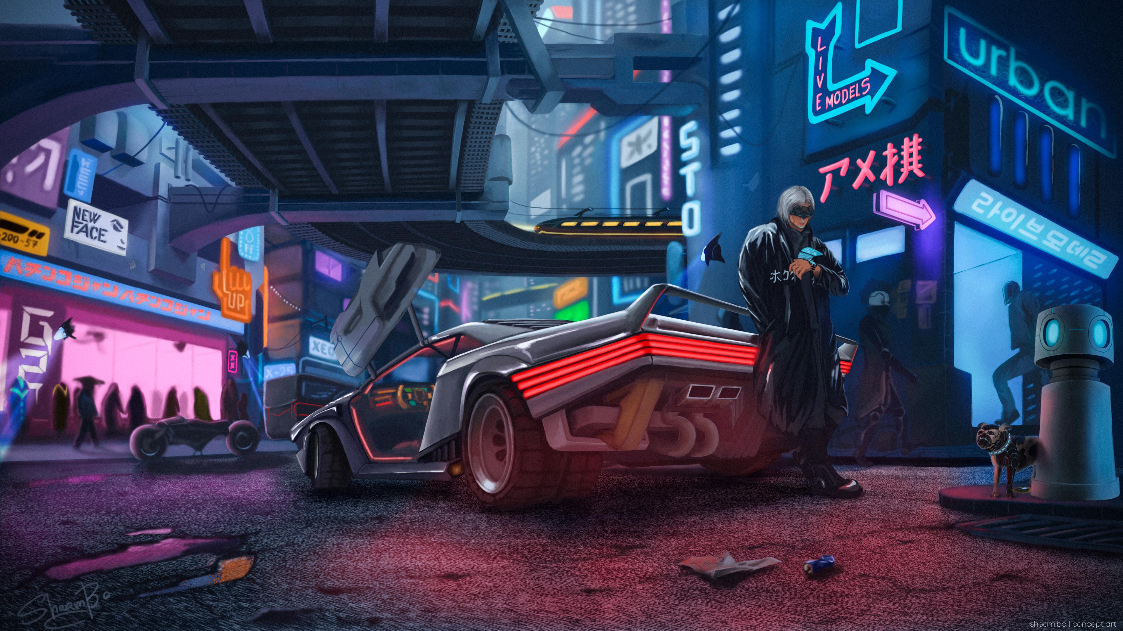 Cyberpunk 2077 fan art 4k hd games 4k wallpapers images - Cyberpunk 2077 wallpaper 4k ...