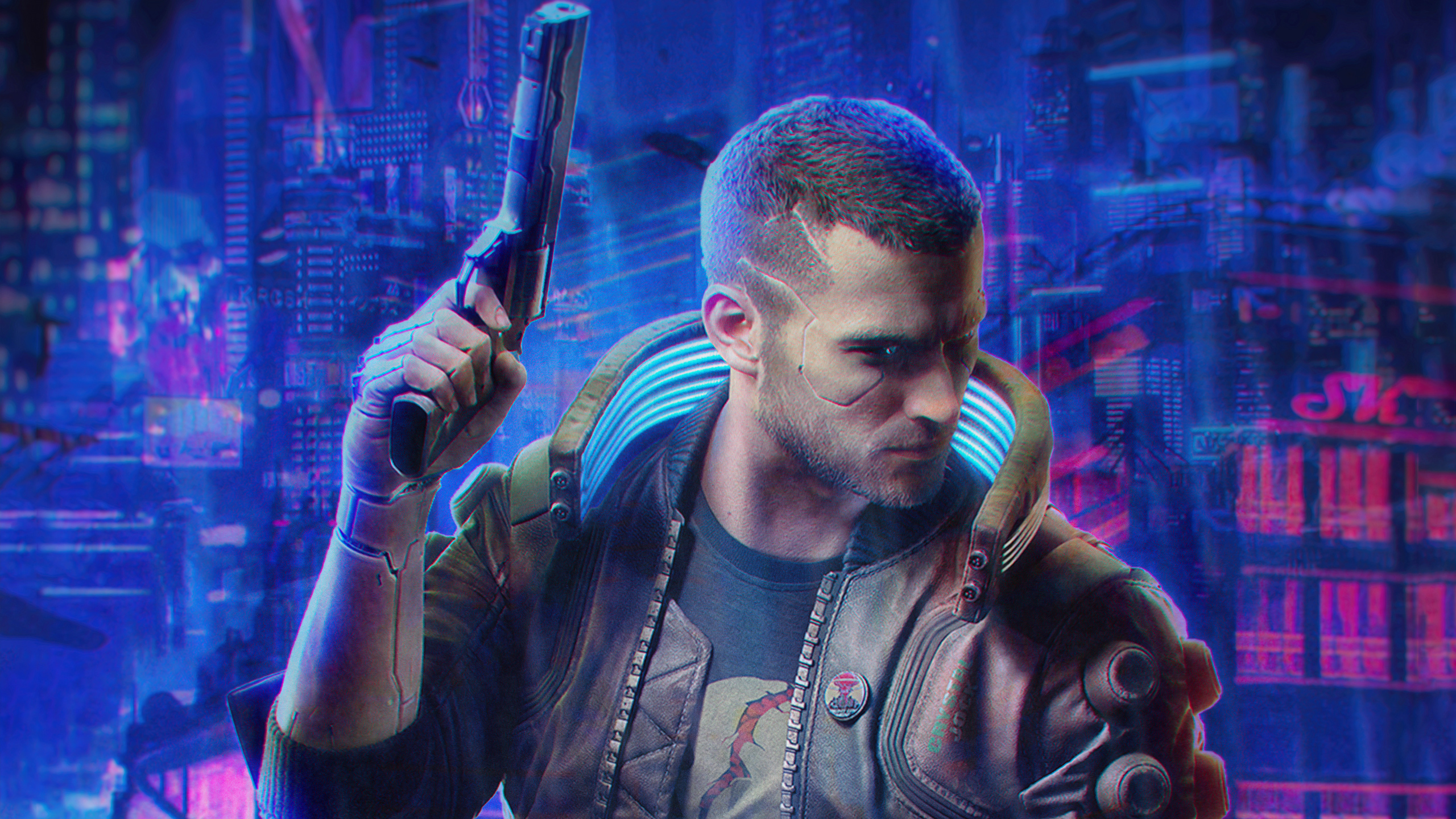 Cyberpunk 2077 Fan Poster, HD Games, 4k Wallpapers, Images ...
