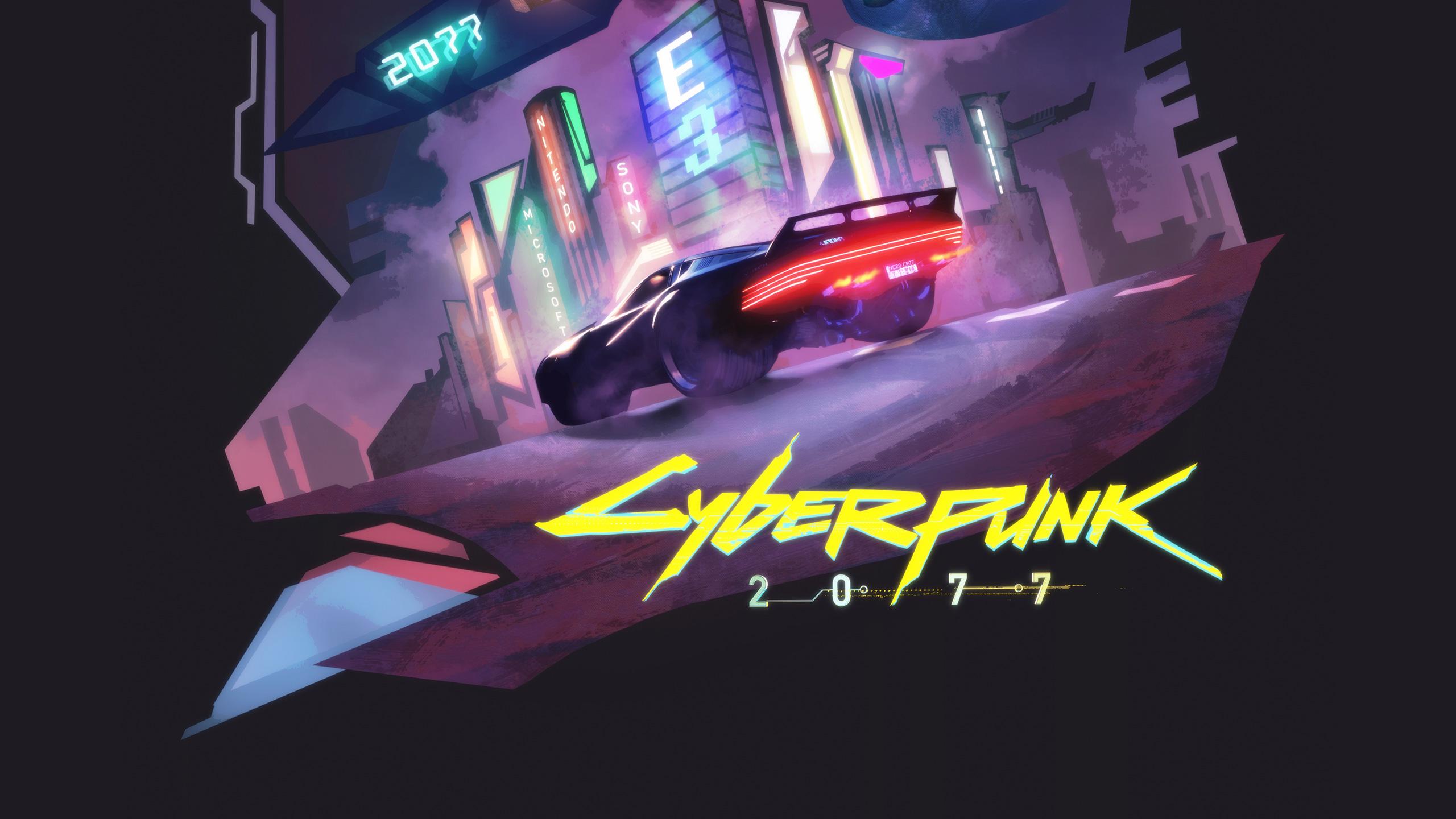 Cyberpunk 2077 Wallpapers Hd: Cyberpunk 2077 Game Fanart, HD Games, 4k Wallpapers