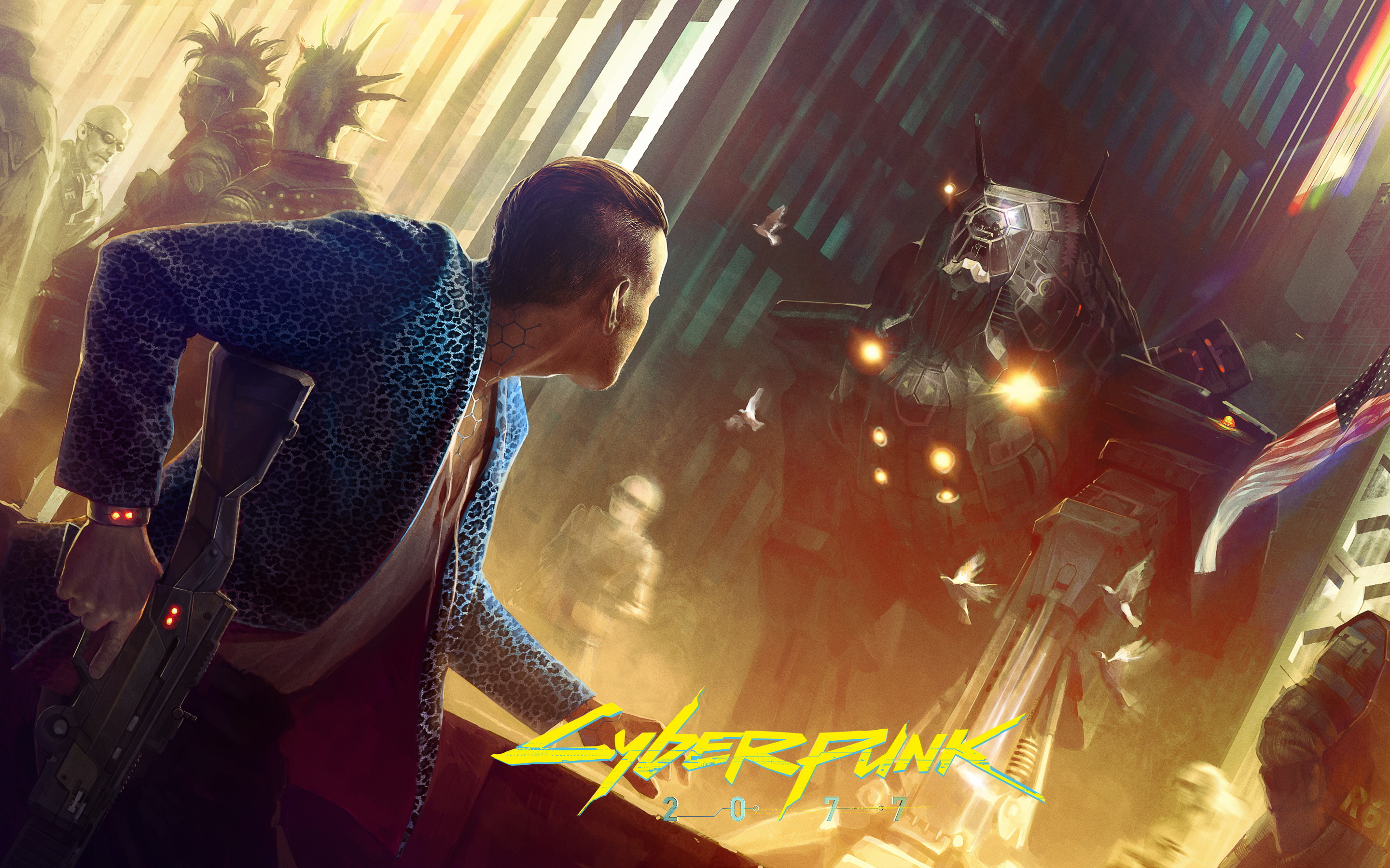 Cyberpunk 2077 Game, HD Games, 4k Wallpapers, Images