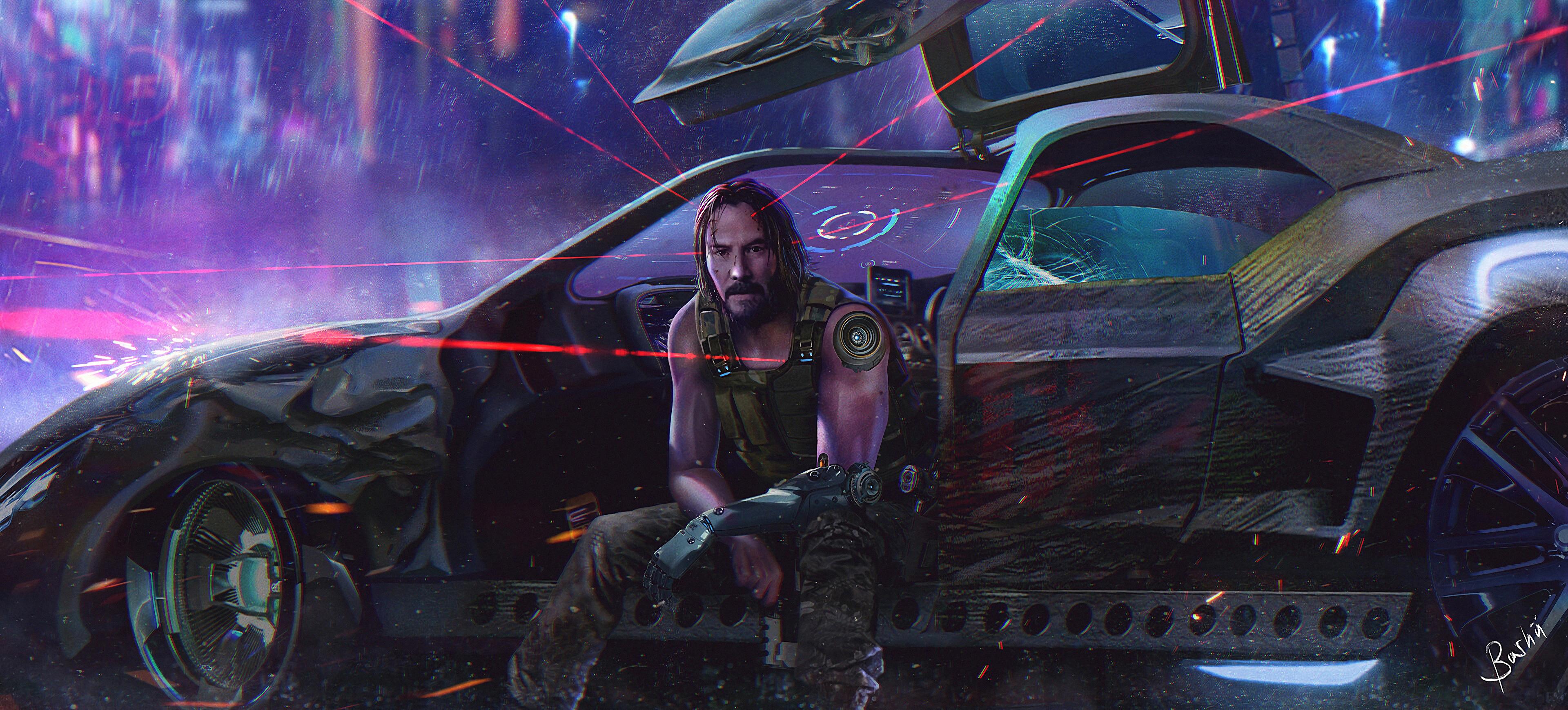 Cyberpunk 2077 Keanu Reeves 4k, HD Games, 4k Wallpapers ...