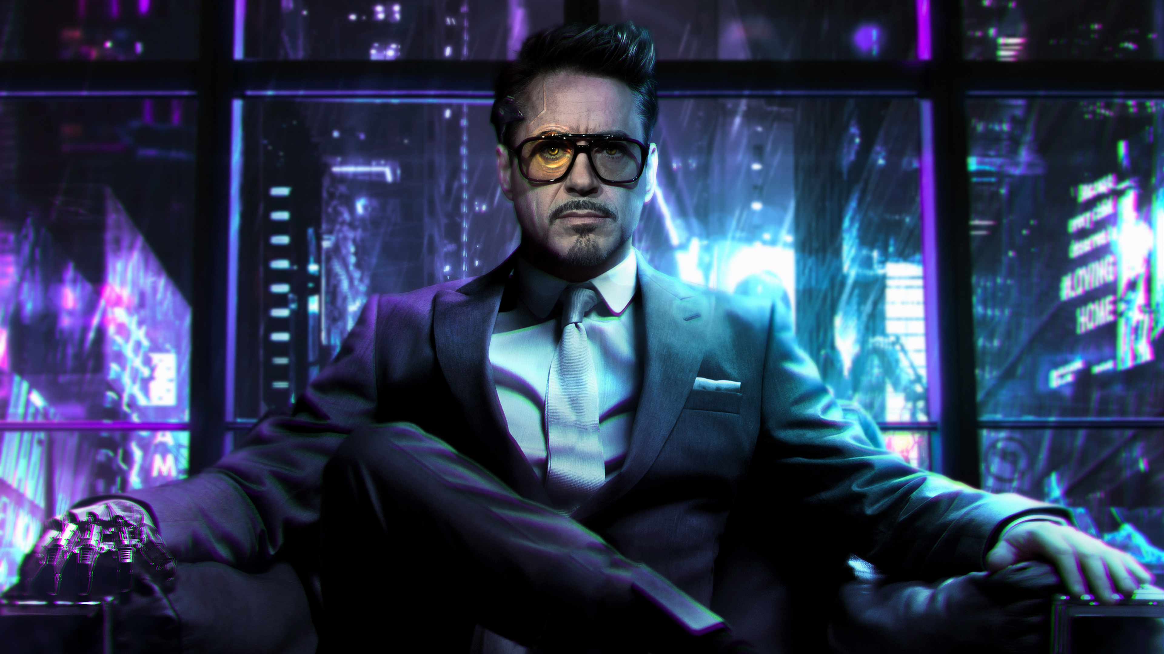 1366x768 Cyberpunk 2077 Tony Stark 1366x768 Resolution HD ...