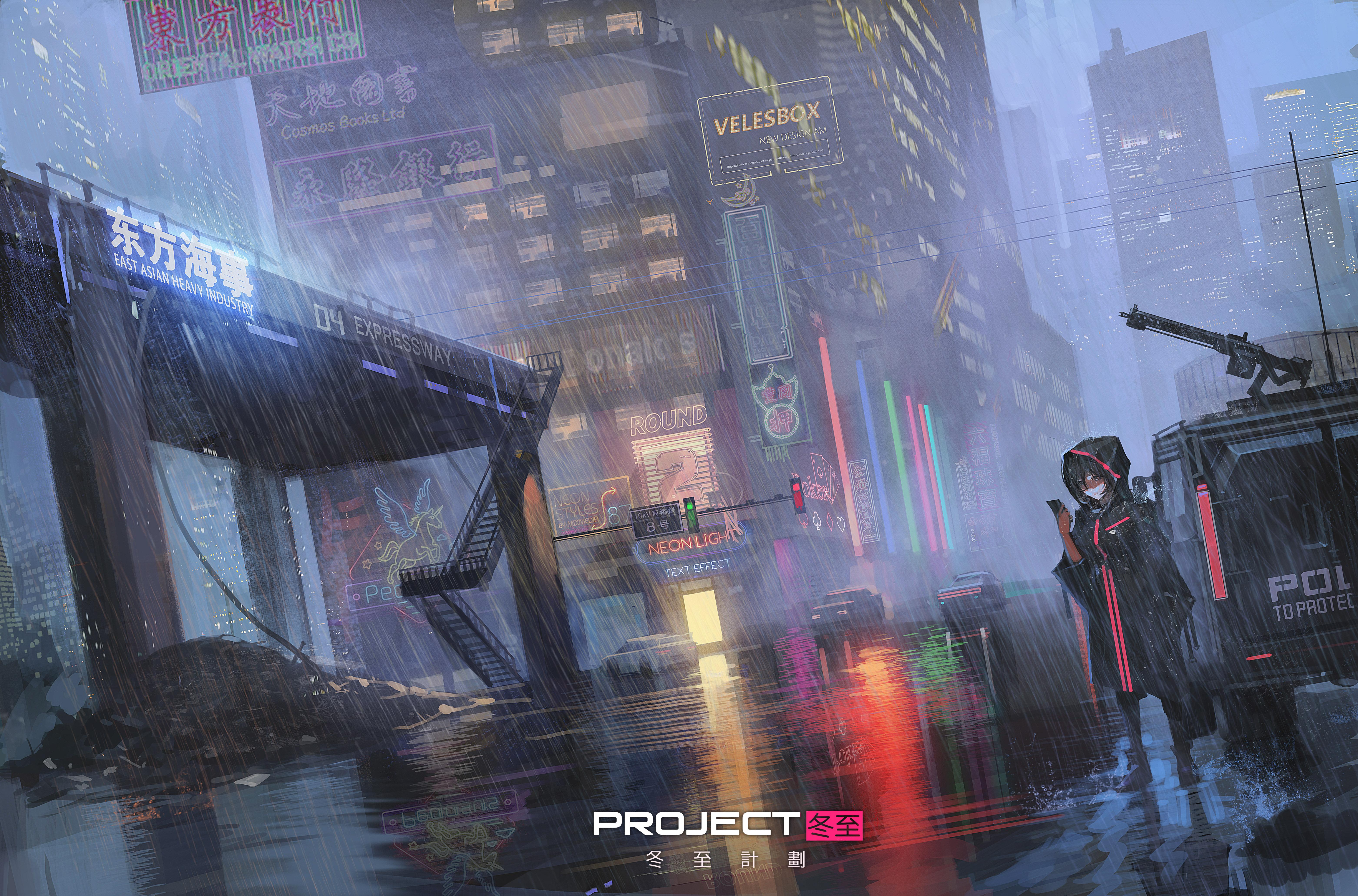 Cyberpunk Anime Girl 5k Hd Anime 4k Wallpapers Images